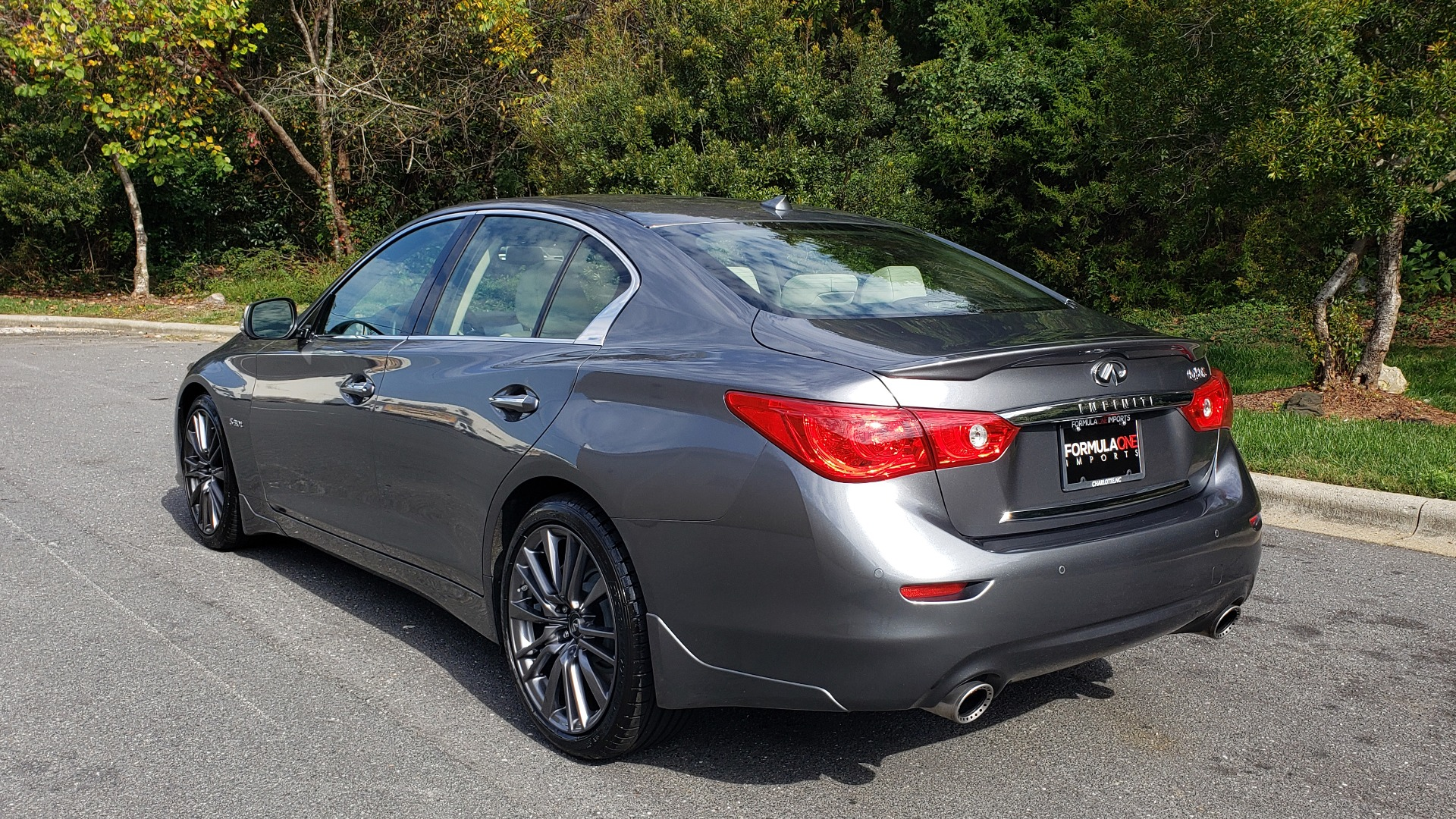 Used 2016 INFINITI Q50 3.0T RED SPORT 400 / NAV / PREM PLUS / BLIND SPOT / REARVIEW for sale $28,495 at Formula Imports in Charlotte NC 28227 3