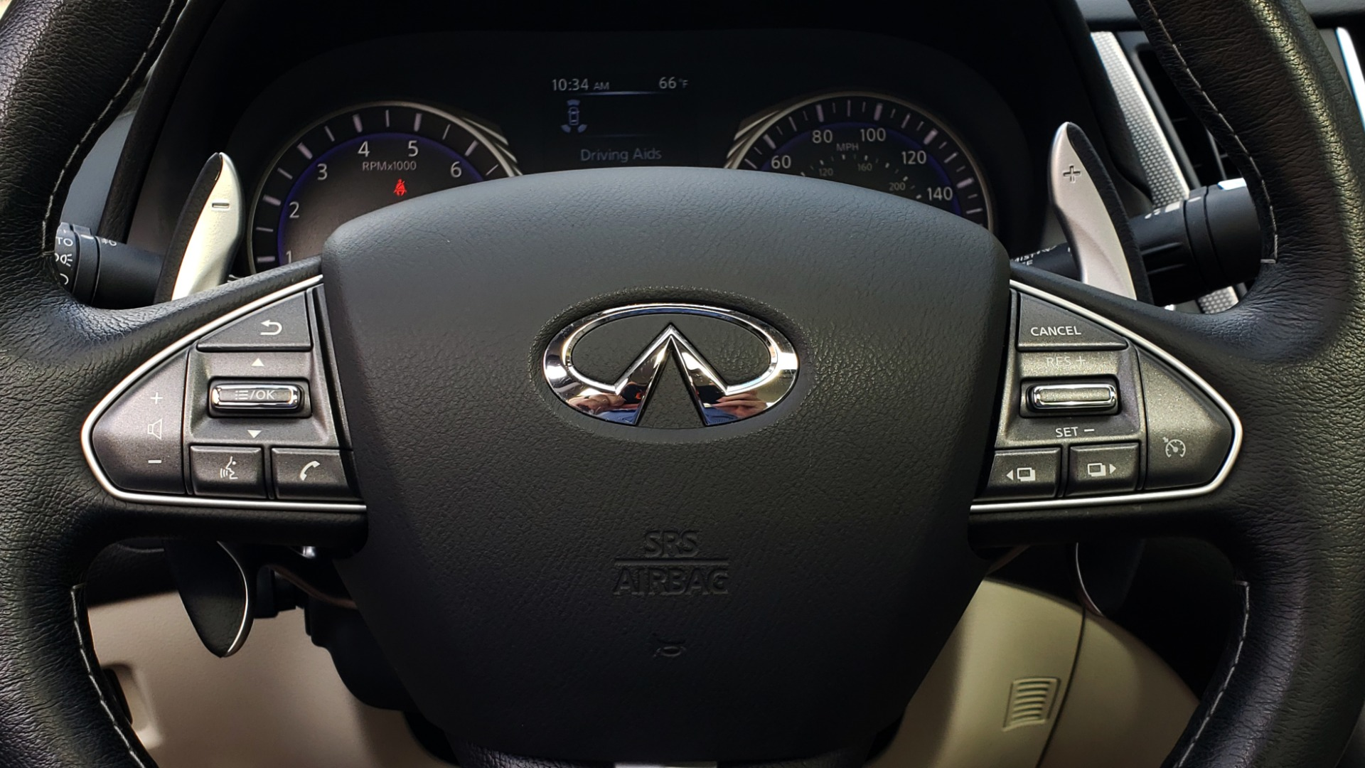 Used 2016 INFINITI Q50 3.0T RED SPORT 400 / NAV / PREM PLUS / BLIND SPOT / REARVIEW for sale $28,495 at Formula Imports in Charlotte NC 28227 40