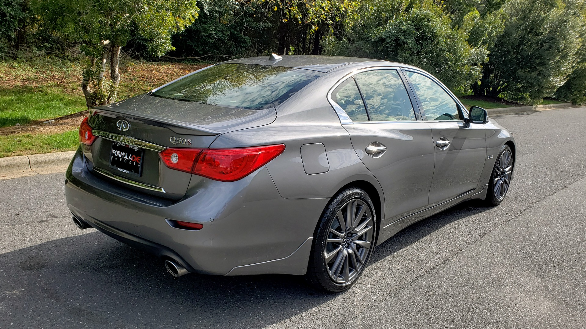 Used 2016 INFINITI Q50 3.0T RED SPORT 400 / NAV / PREM PLUS / BLIND SPOT / REARVIEW for sale $28,495 at Formula Imports in Charlotte NC 28227 6
