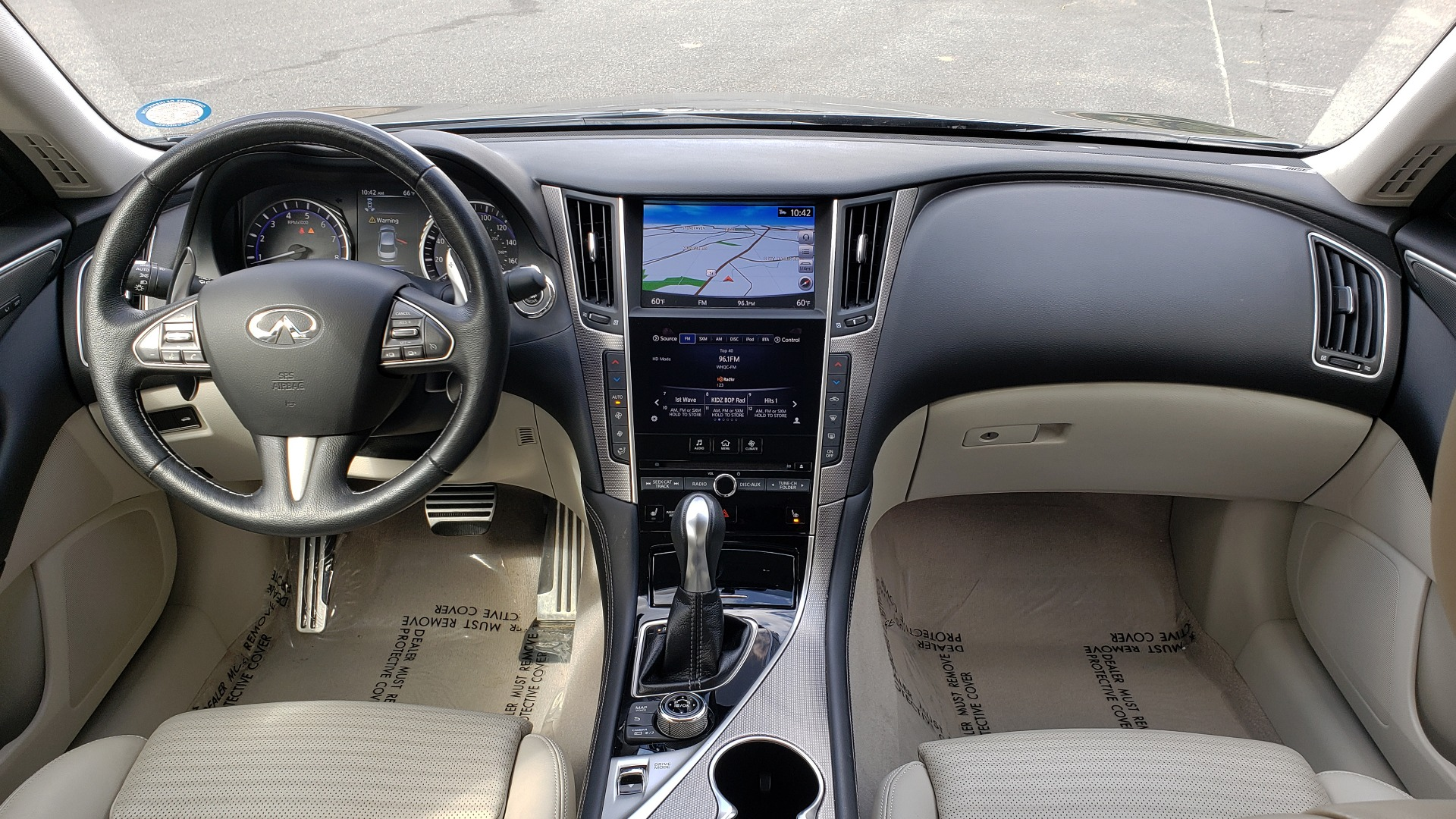 Used 2016 INFINITI Q50 3.0T RED SPORT 400 / NAV / PREM PLUS / BLIND SPOT / REARVIEW for sale $28,495 at Formula Imports in Charlotte NC 28227 78