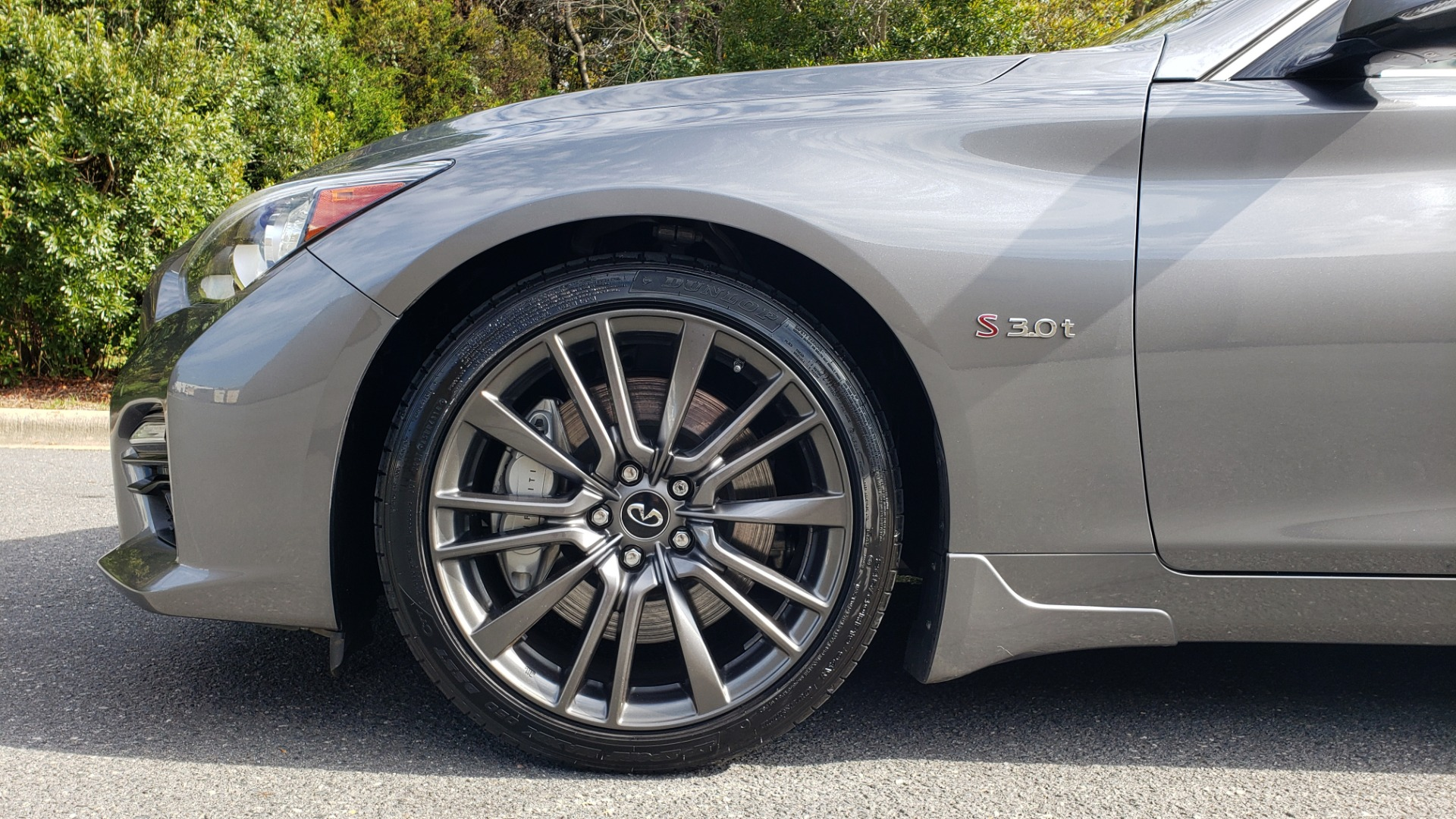 Used 2016 INFINITI Q50 3.0T RED SPORT 400 / NAV / PREM PLUS / BLIND SPOT / REARVIEW for sale $28,495 at Formula Imports in Charlotte NC 28227 80