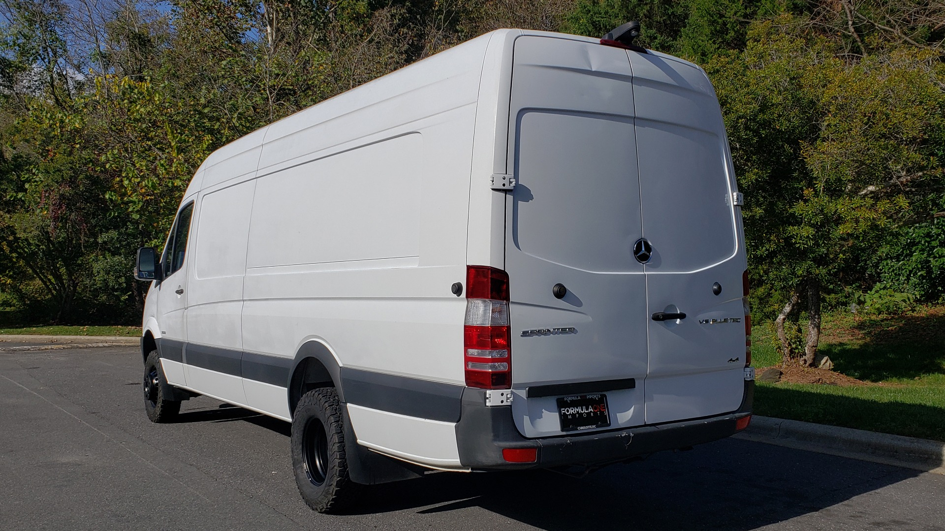 Used 2015 Mercedes-Benz SPRINTER CARGO VAN 4x4 3500 170 EXT / 3.0L V6 TURBO DIESEL / 5-SPD AUTO / REARVIEW for sale $51,999 at Formula Imports in Charlotte NC 28227 3