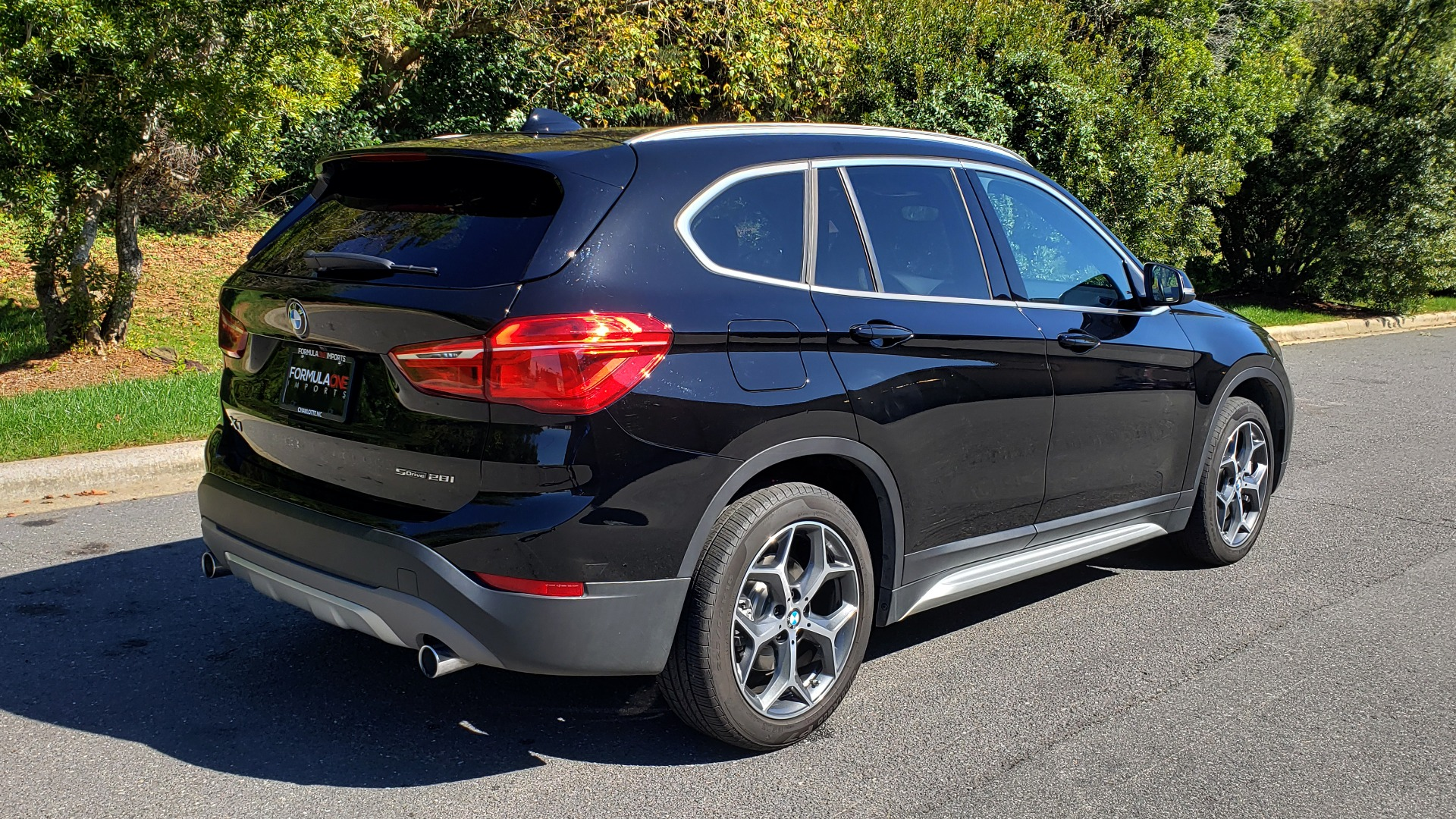 Used 2018 BMW X1 SDRIVE28I / HEATED SEATS / 4-CYL / 8-SPD AUTO / REARVIEW for sale Sold at Formula Imports in Charlotte NC 28227 2