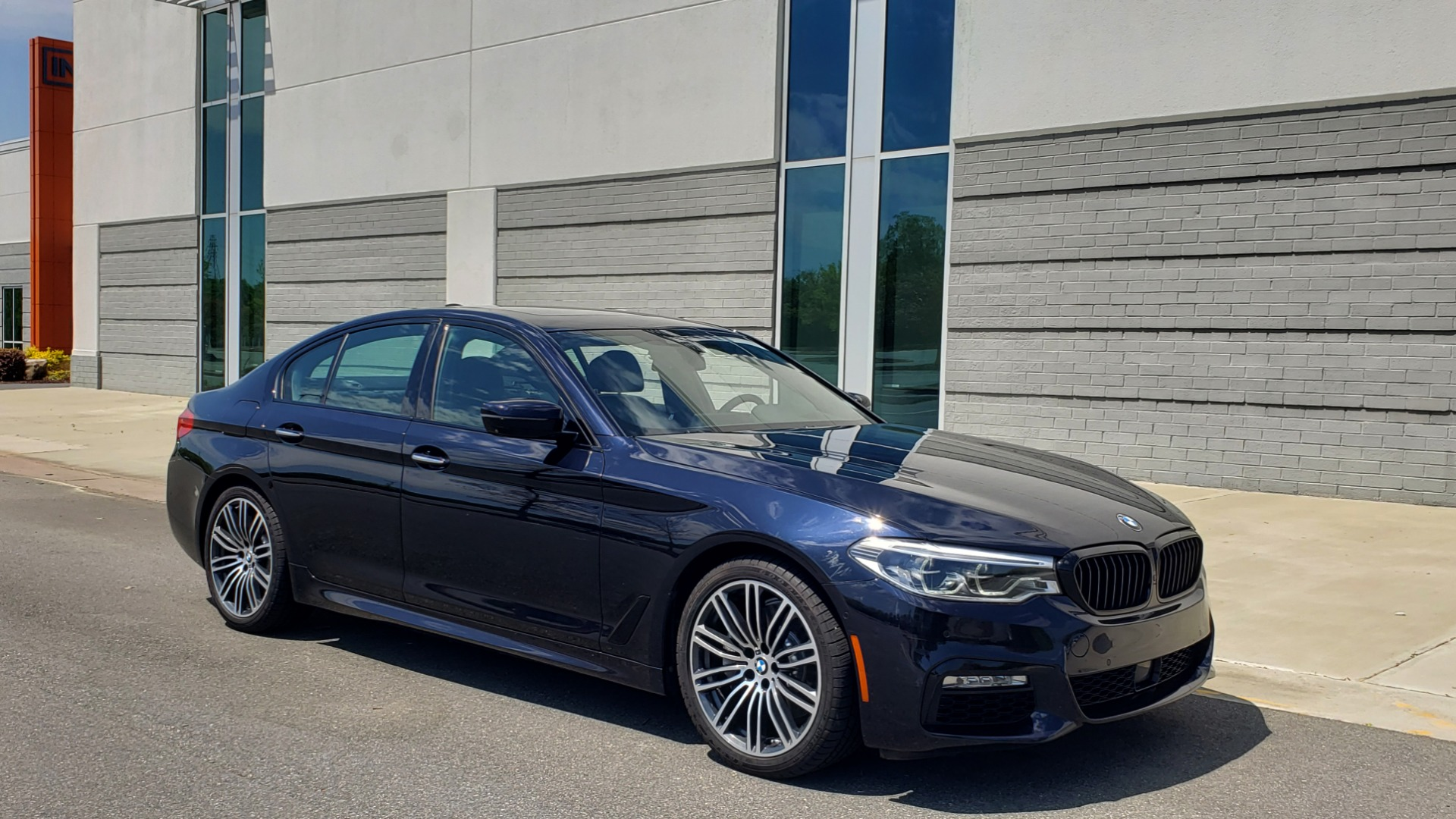 Used 2017 BMW 5 SERIES 540I XDRIVE M-SPORT / PREMIUM / DRVR ASST PLUS / CLD WTHR / LUXURY for sale Sold at Formula Imports in Charlotte NC 28227 3