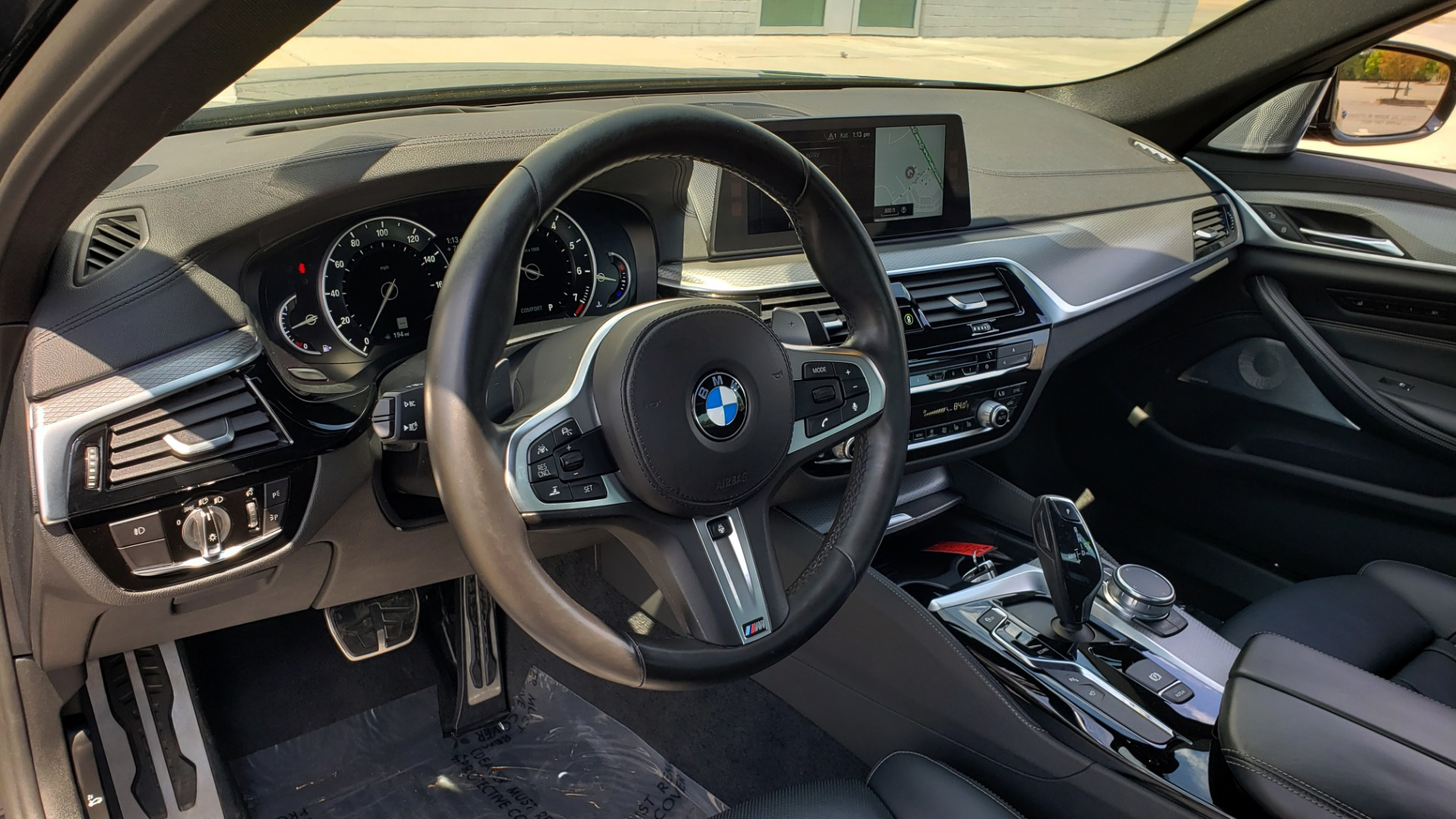 Used 2017 BMW 5 SERIES 540I XDRIVE M-SPORT / PREMIUM / DRVR ASST PLUS / CLD WTHR / LUXURY for sale Sold at Formula Imports in Charlotte NC 28227 38