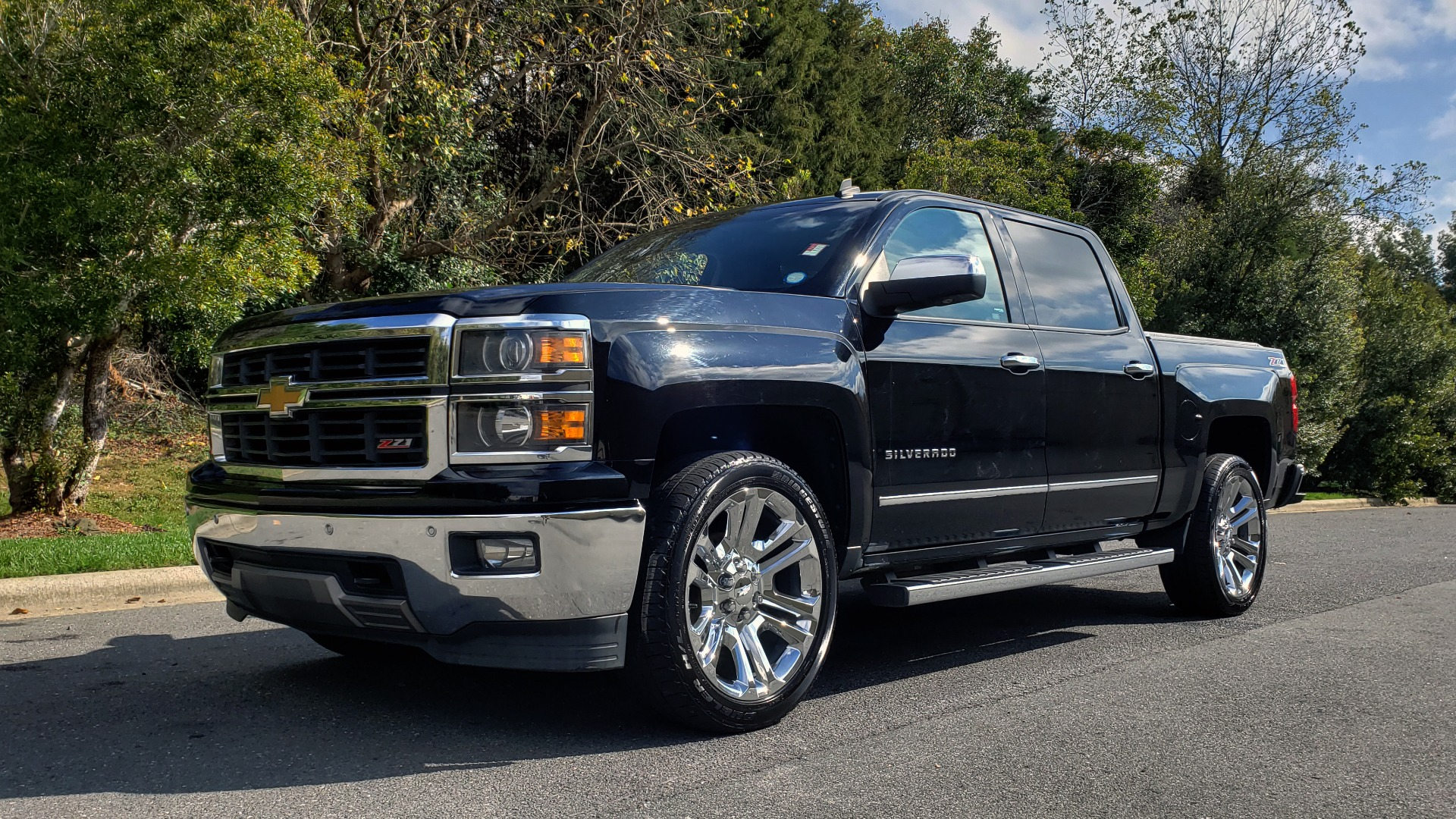 Used 2014 Chevrolet SILVERADO 1500 CREWCAB / LTZ PLUS PKG / 4WD / 2LZ / NAV / BOSE / REARVIEW for sale Sold at Formula Imports in Charlotte NC 28227 1