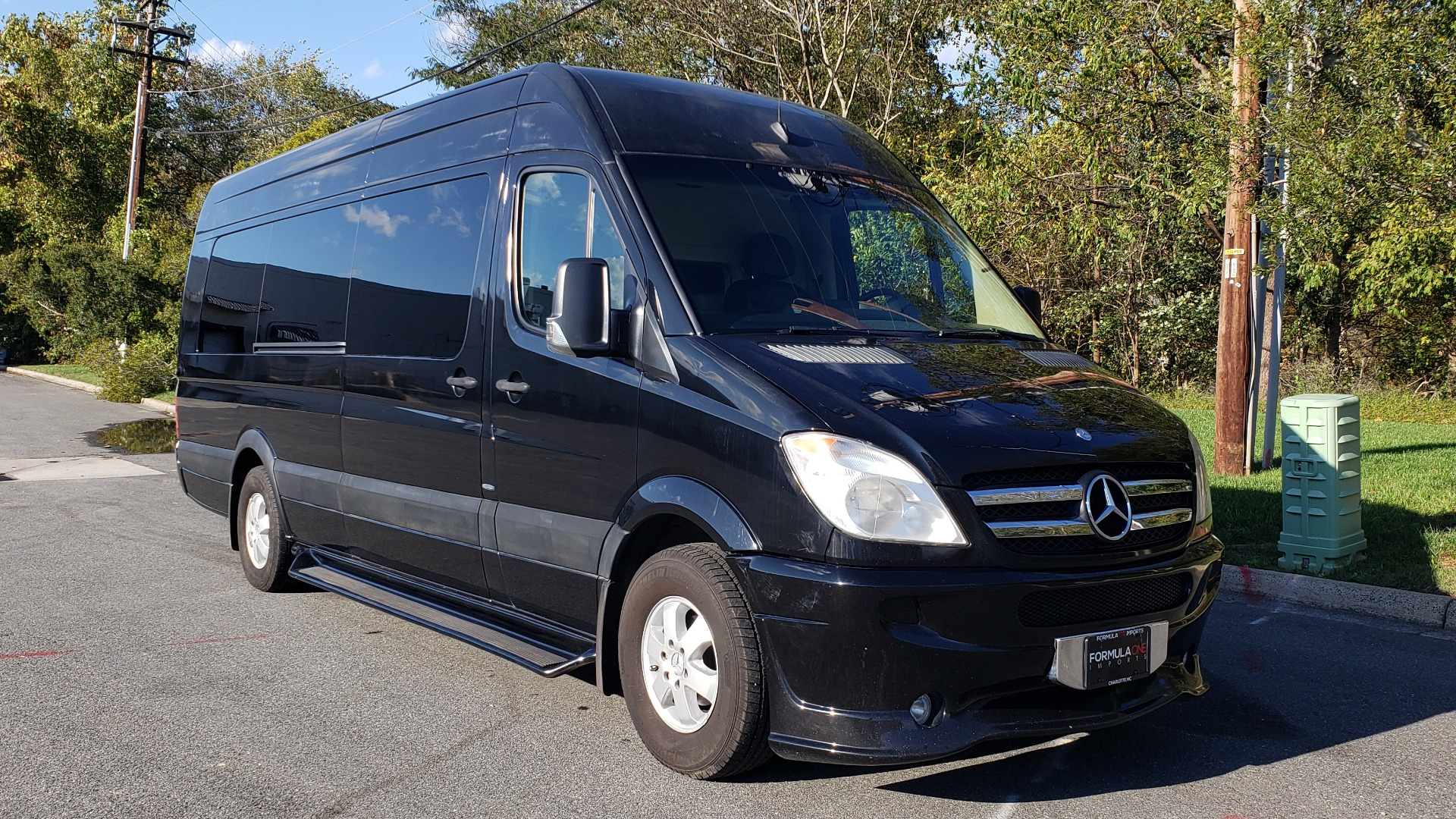 Used 2012 Mercedes-Benz SPRINTER CARGO VAN EXT / OFFICE ON WHEELS / FLT SCREEN TV / LOUNGE for sale Sold at Formula Imports in Charlotte NC 28227 4