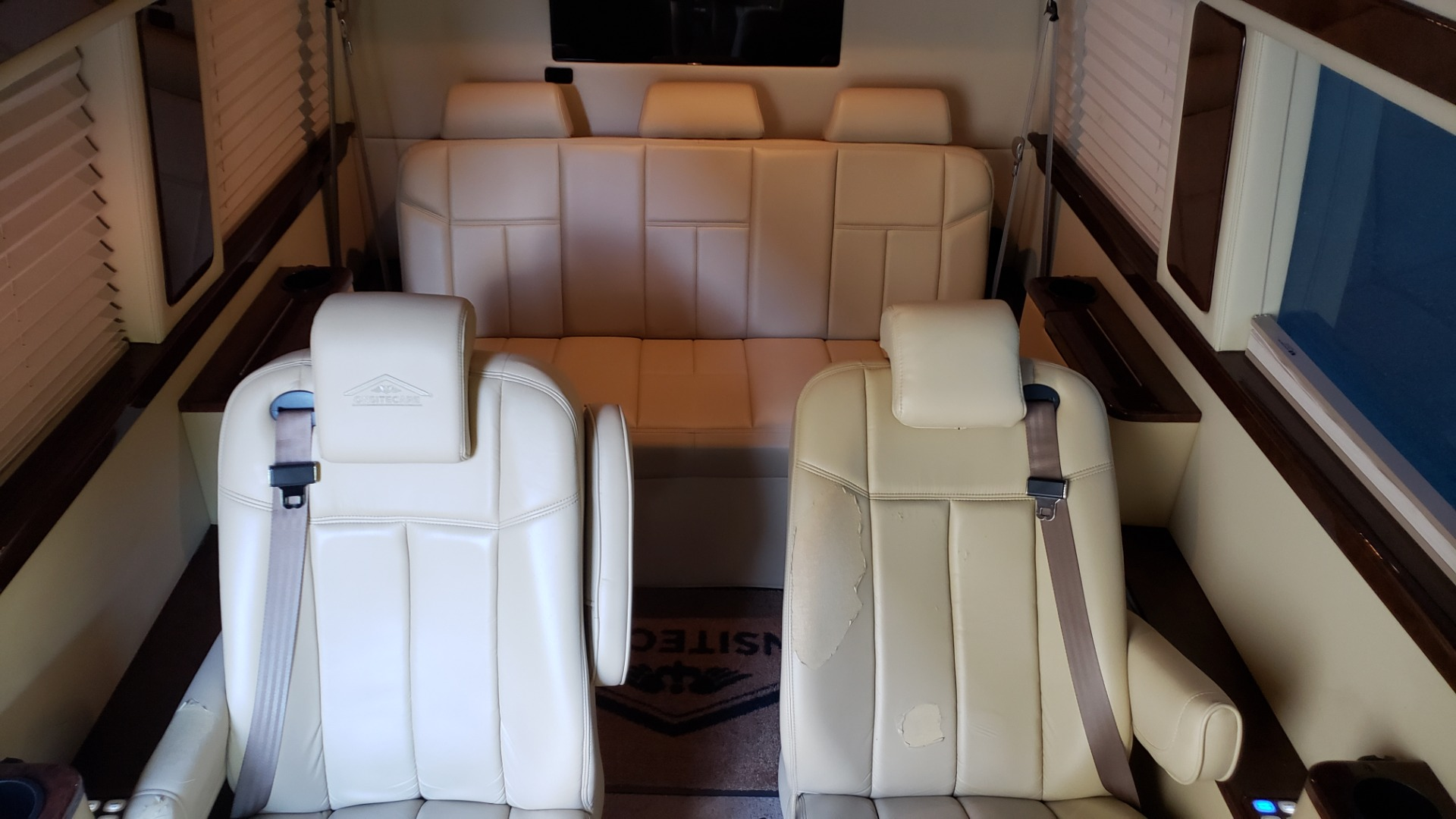 Used 2012 Mercedes-Benz SPRINTER CARGO VAN EXT / OFFICE ON WHEELS / FLT SCREEN TV / LOUNGE for sale Sold at Formula Imports in Charlotte NC 28227 49
