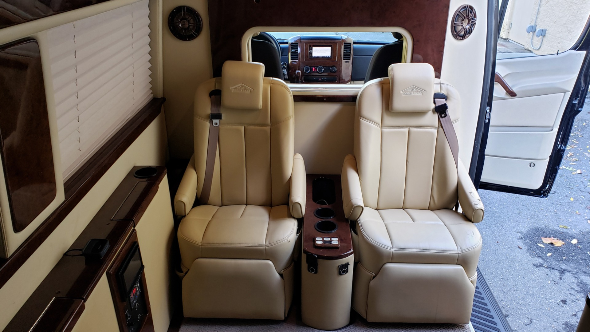 Used 2012 Mercedes-Benz SPRINTER CARGO VAN EXT / OFFICE ON WHEELS / FLT SCREEN TV / LOUNGE for sale Sold at Formula Imports in Charlotte NC 28227 56