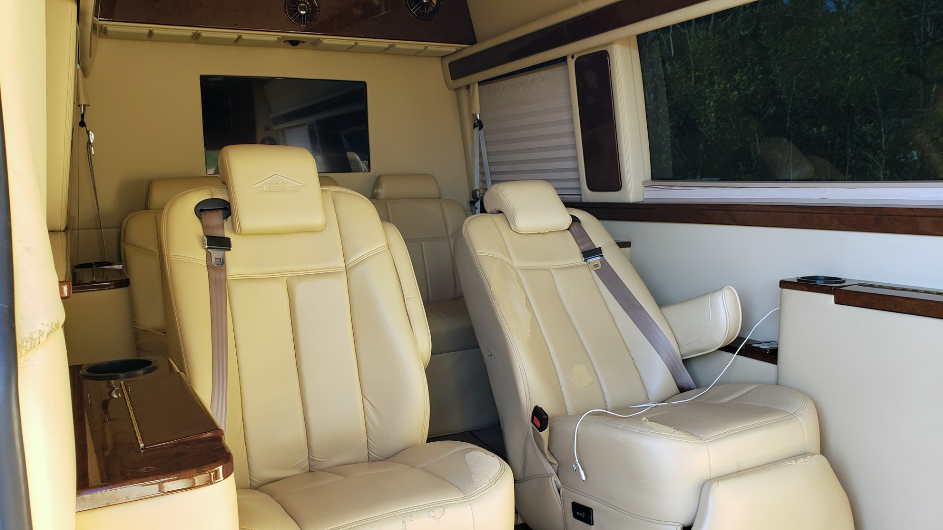Used 2012 Mercedes-Benz SPRINTER CARGO VAN EXT / OFFICE ON WHEELS / FLT SCREEN TV / LOUNGE for sale Sold at Formula Imports in Charlotte NC 28227 8