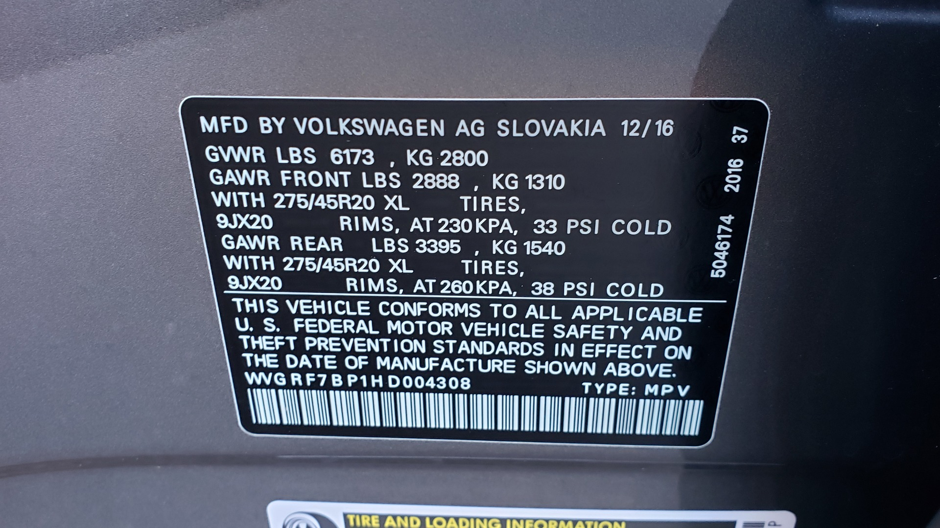 Used 2017 Volkswagen TOUAREG V6 WOLFSBURG EDITION / NAV / PANO-ROOF / ACC / REARVIEW for sale Sold at Formula Imports in Charlotte NC 28227 96