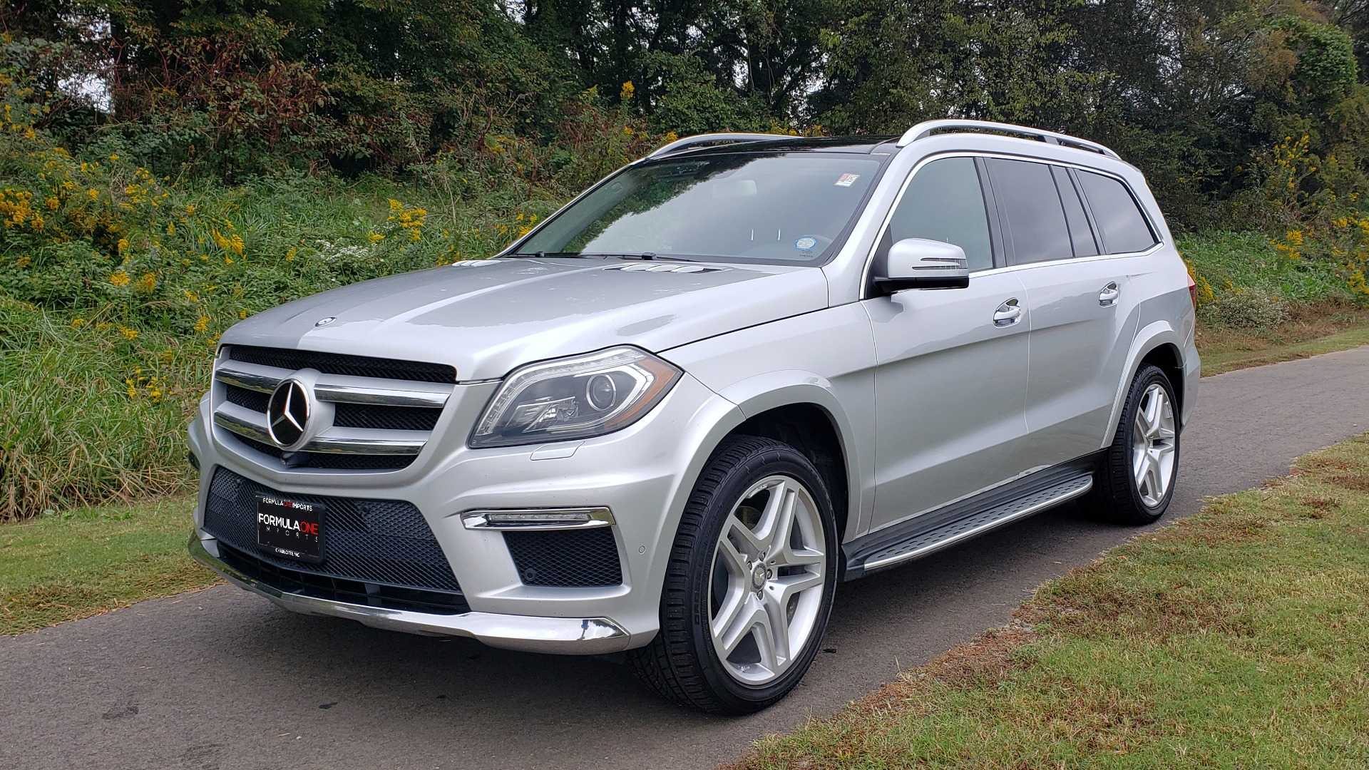 Used 2014 Mercedes-Benz GL-CLASS GL 550 4MATIC / DRVR ASST / NAV / PANO-ROOF / 3-ROWS for sale Sold at Formula Imports in Charlotte NC 28227 5