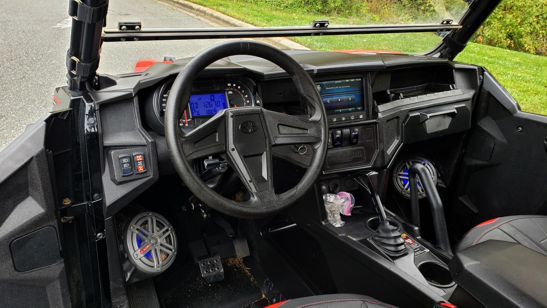 Used 2018 Polaris GENERAL 4 1000 EPS / 4-SEATER / TILT BED / LED LIGHT BARS / BACK-UP CAMERA for sale Sold at Formula Imports in Charlotte NC 28227 20