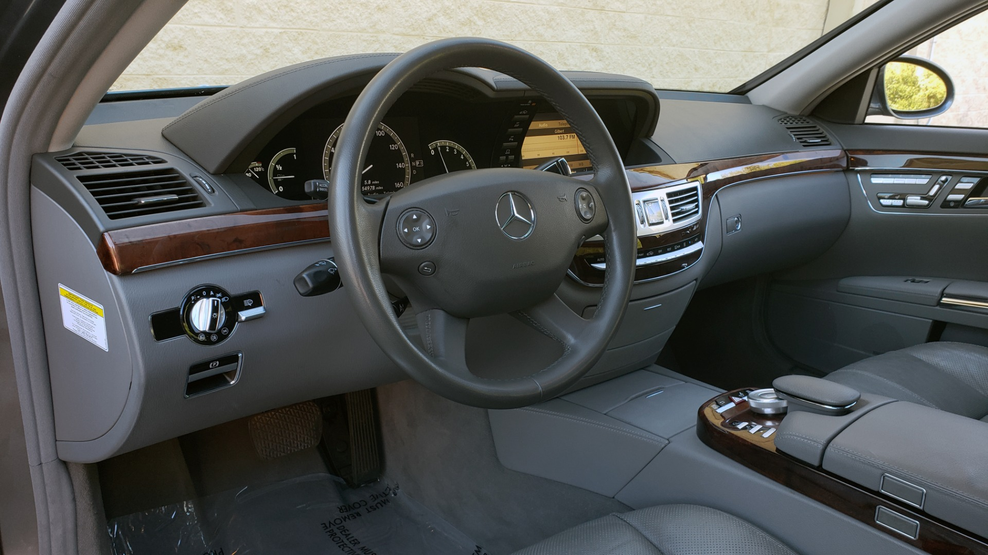 Used 2007 Mercedes-Benz S-CLASS S550 5.5L V8 / LWB / PREM 2 / NAV / SUNROOF / KEYLESS-GO for sale Sold at Formula Imports in Charlotte NC 28227 40