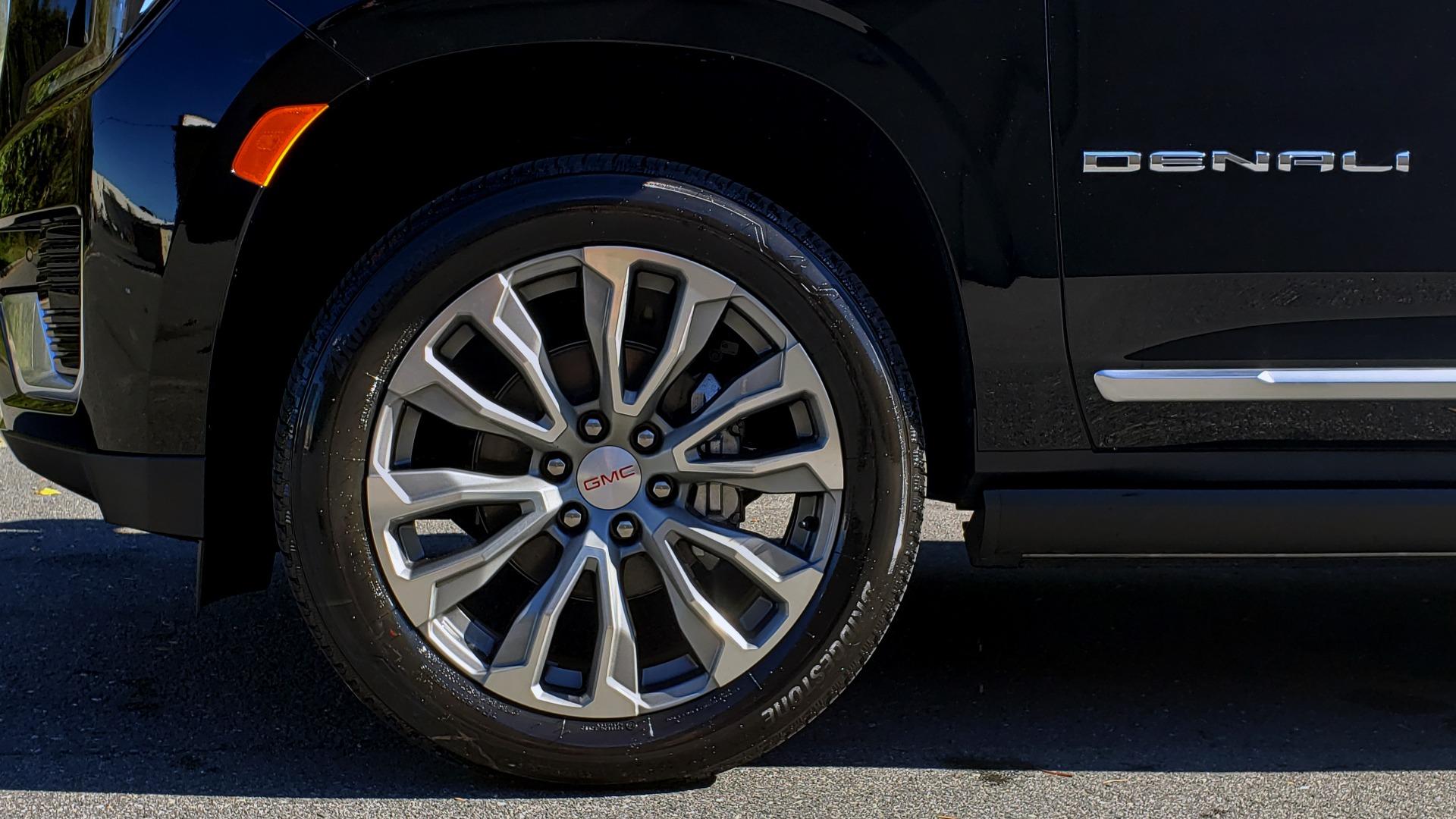 Used 2021 GMC YUKON DENALI PREMIUM 4WD / NAV / ADVANCED TECH / ENTERTAINMENT for sale Sold at Formula Imports in Charlotte NC 28227 112