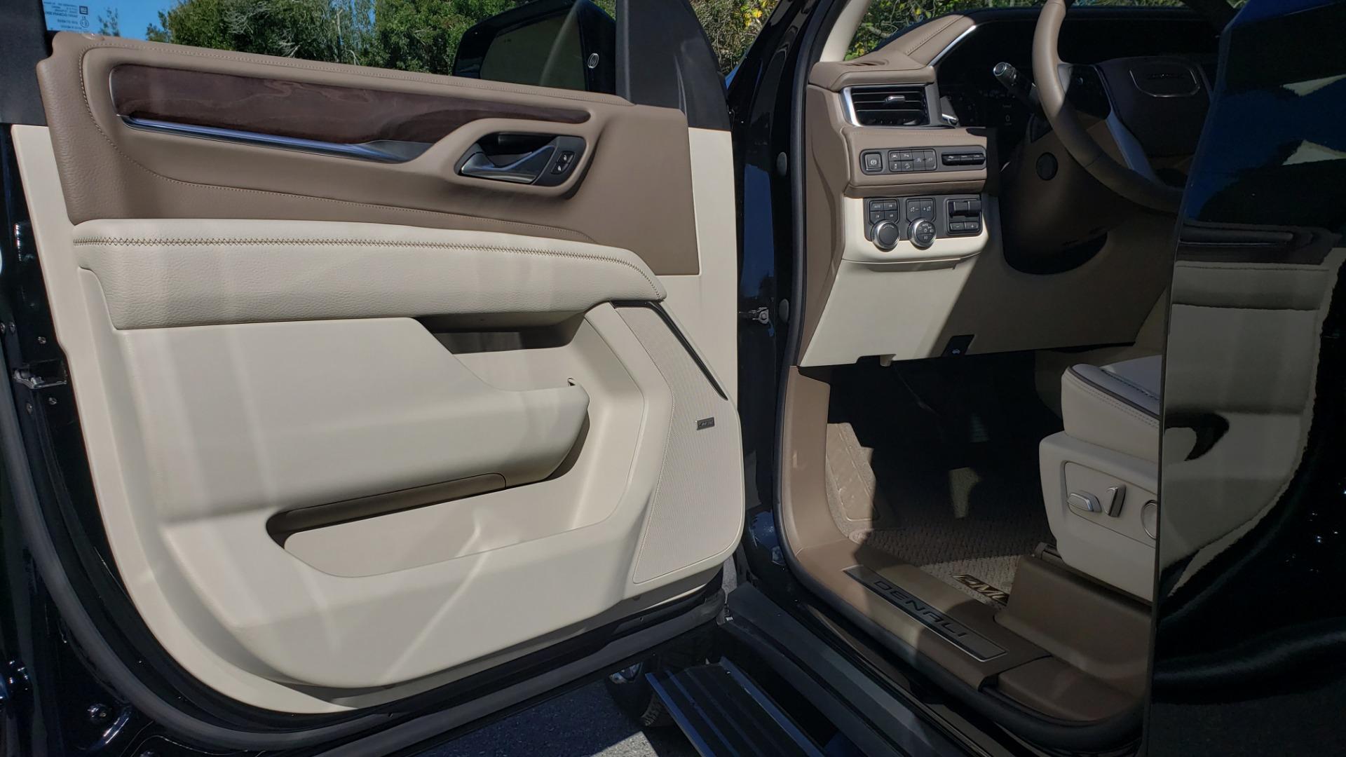 Used 2021 GMC YUKON DENALI PREMIUM 4WD / NAV / ADVANCED TECH / ENTERTAINMENT for sale Sold at Formula Imports in Charlotte NC 28227 65