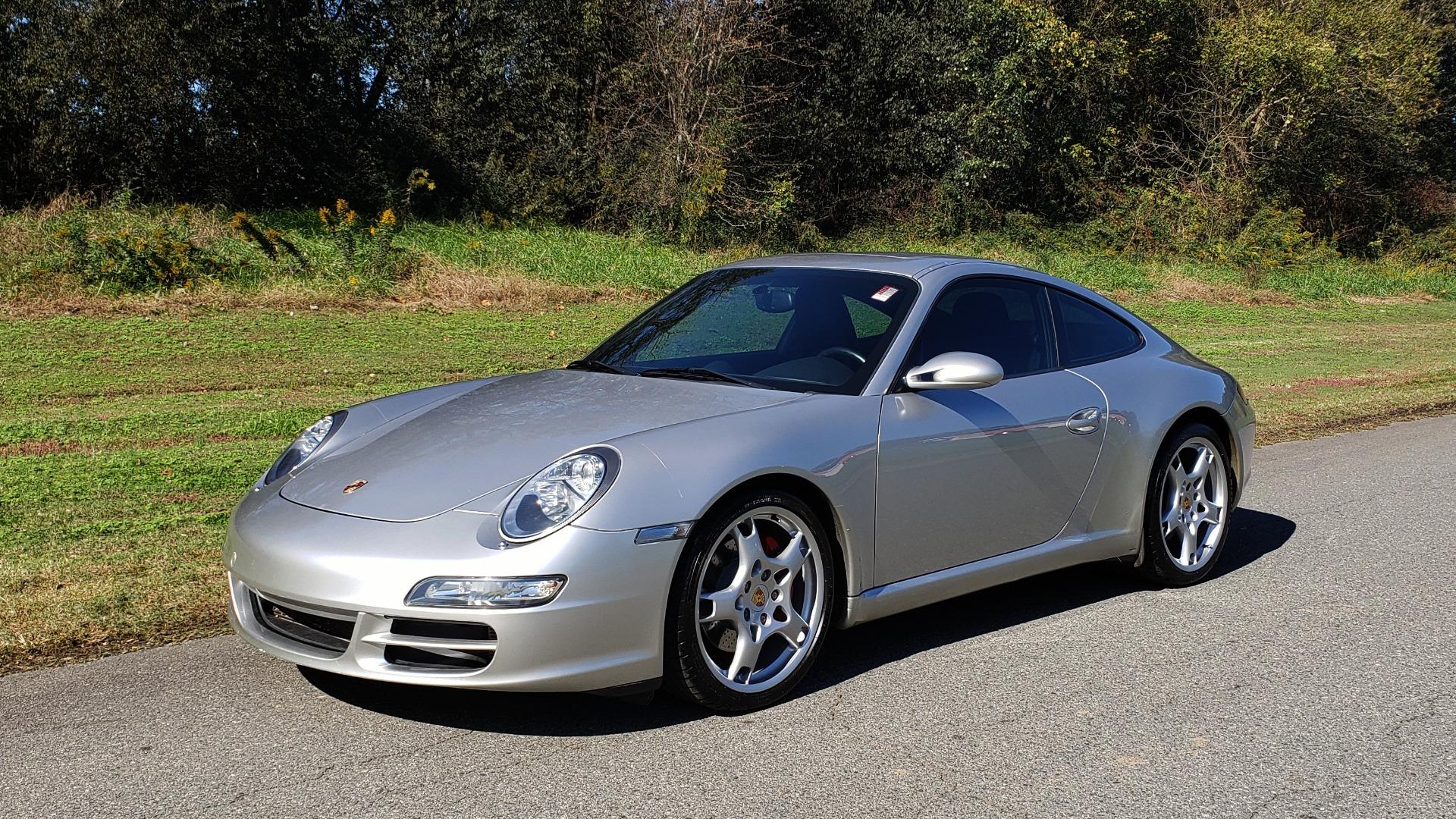 Used 2006 Porsche 911 CARRERA S / 5-SPD AUTO / SPORT CHRONO / NAV / BOSE / SUNROOF for sale Sold at Formula Imports in Charlotte NC 28227 4