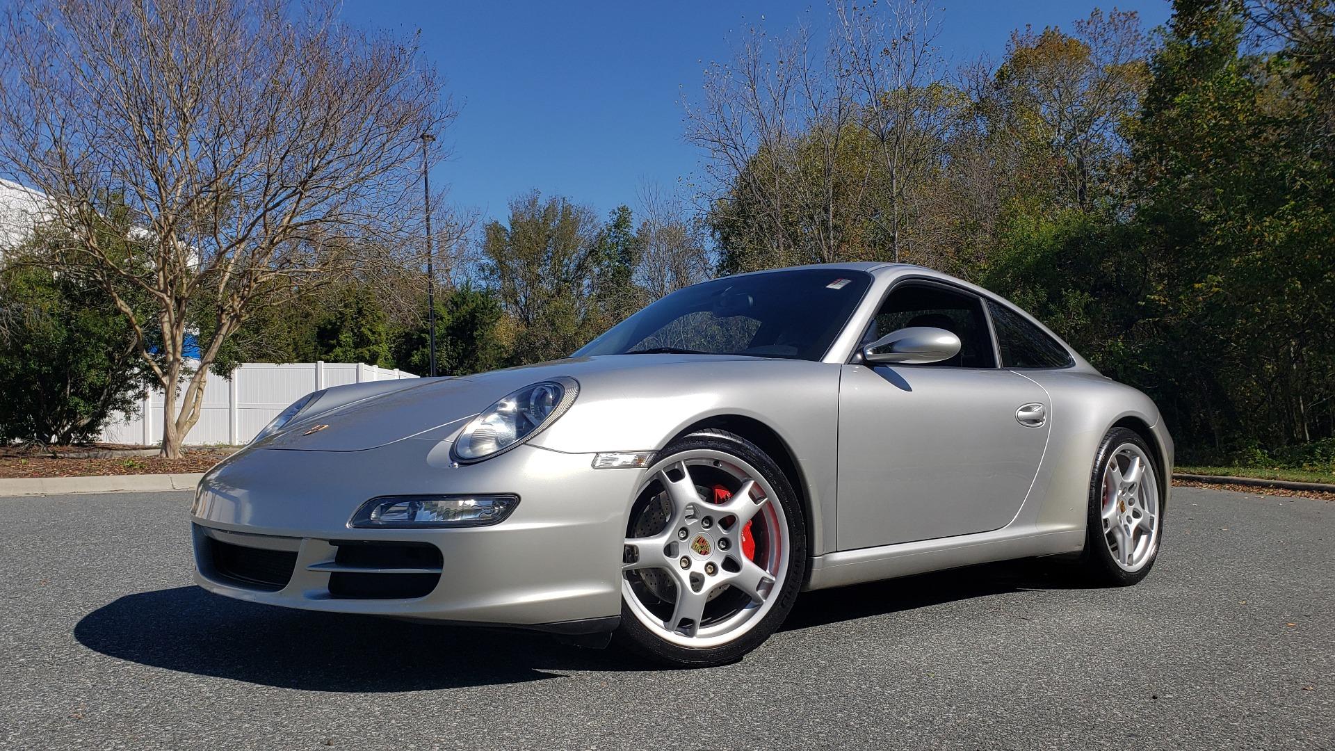 Used 2006 Porsche 911 CARRERA S / 5-SPD AUTO / SPORT CHRONO / NAV / BOSE / SUNROOF for sale Sold at Formula Imports in Charlotte NC 28227 1