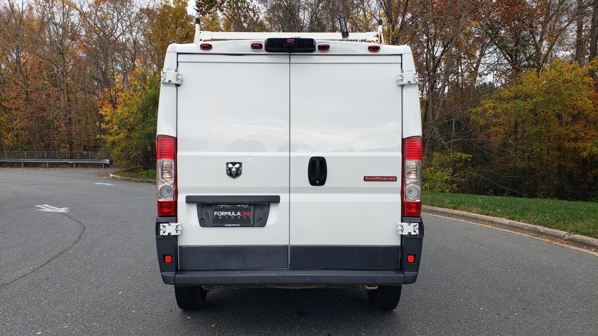 Used 2015 Ram PROMASTER CARGO VAN 136-INCH WB / LOW ROOF / LADDER RACK / INSIDE RACKS for sale Sold at Formula Imports in Charlotte NC 28227 26