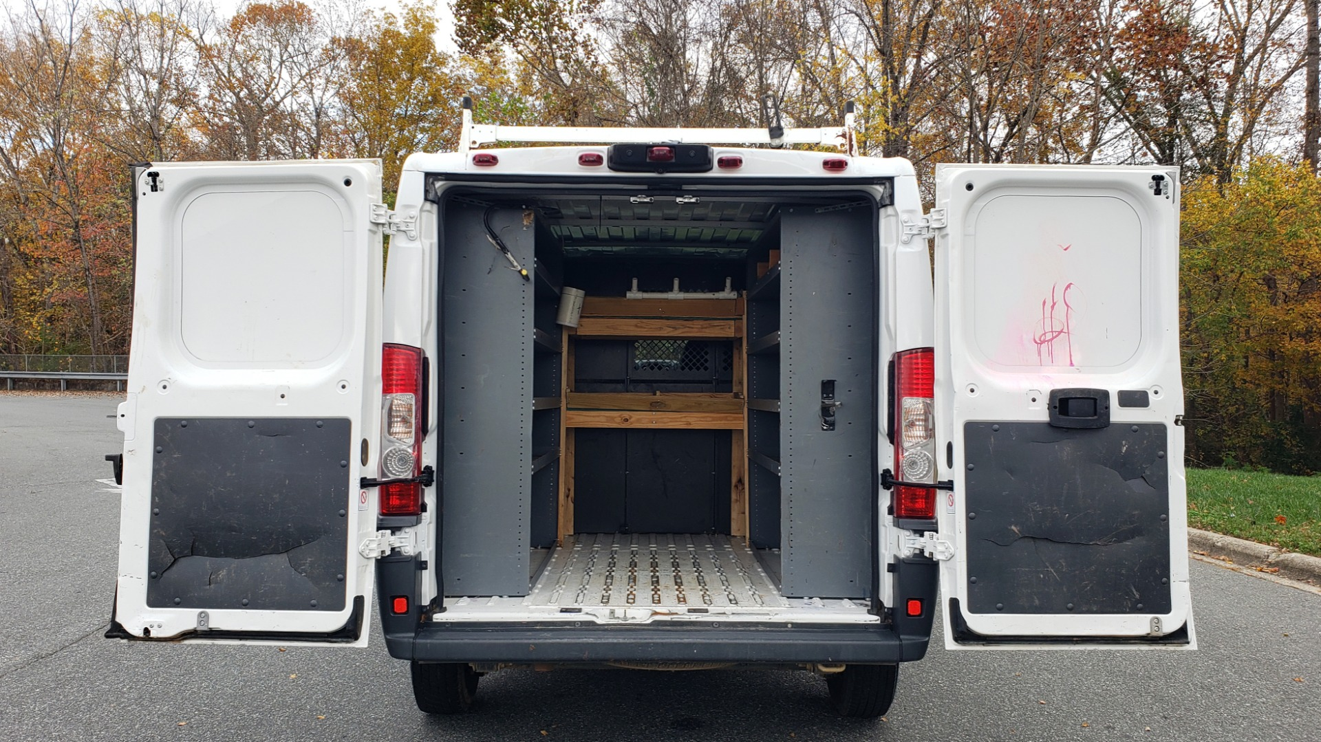 Used 2015 Ram PROMASTER CARGO VAN 136-INCH WB / LOW ROOF / LADDER RACK / INSIDE RACKS for sale Sold at Formula Imports in Charlotte NC 28227 55