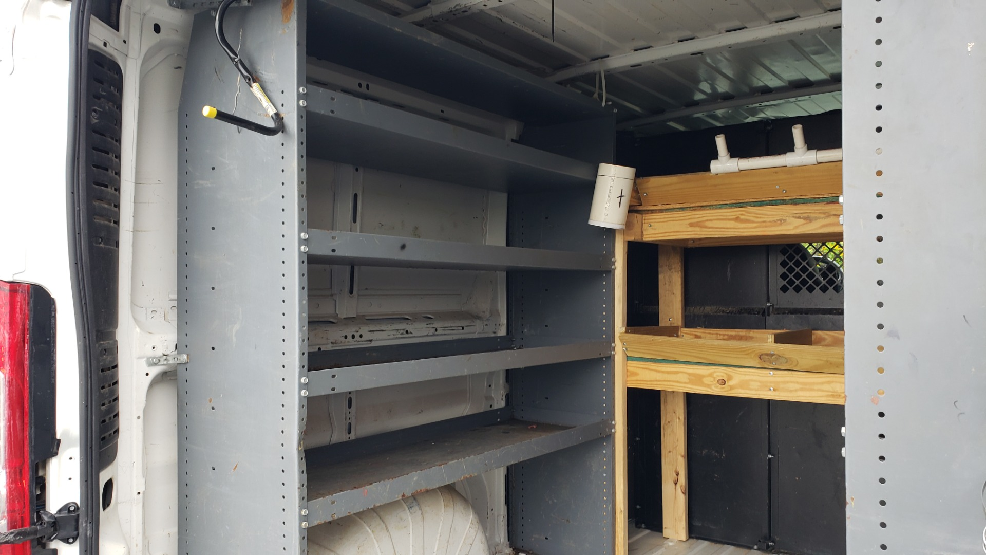 Used 2015 Ram PROMASTER CARGO VAN 136-INCH WB / LOW ROOF / LADDER RACK / INSIDE RACKS for sale Sold at Formula Imports in Charlotte NC 28227 56