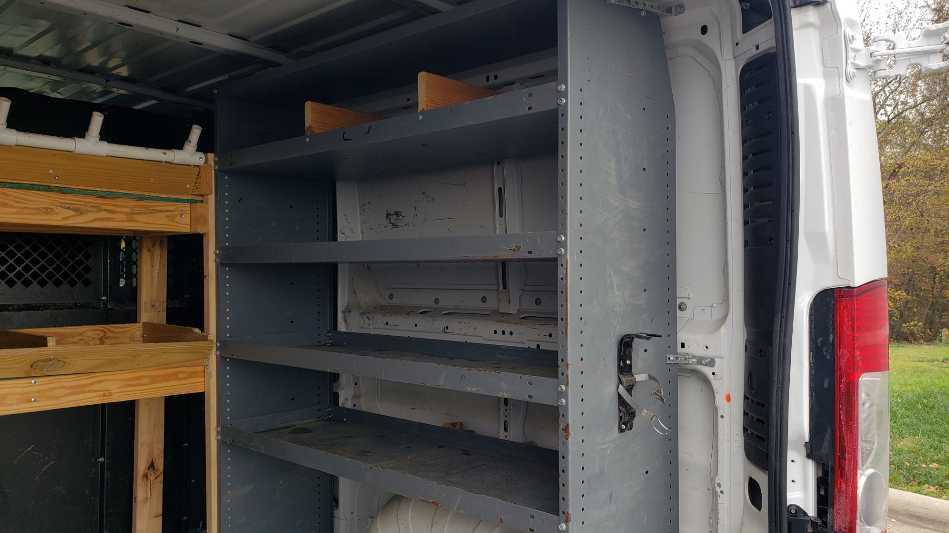 Used 2015 Ram PROMASTER CARGO VAN 136-INCH WB / LOW ROOF / LADDER RACK / INSIDE RACKS for sale $16,995 at Formula Imports in Charlotte NC 28227 57