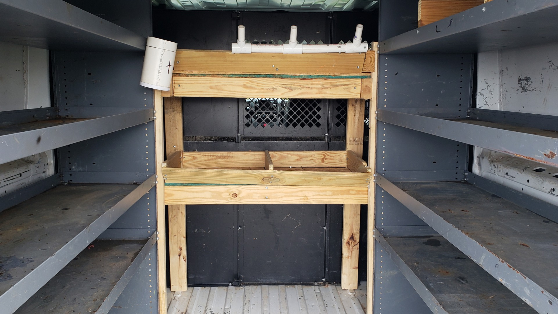 Used 2015 Ram PROMASTER CARGO VAN 136-INCH WB / LOW ROOF / LADDER RACK / INSIDE RACKS for sale Sold at Formula Imports in Charlotte NC 28227 58