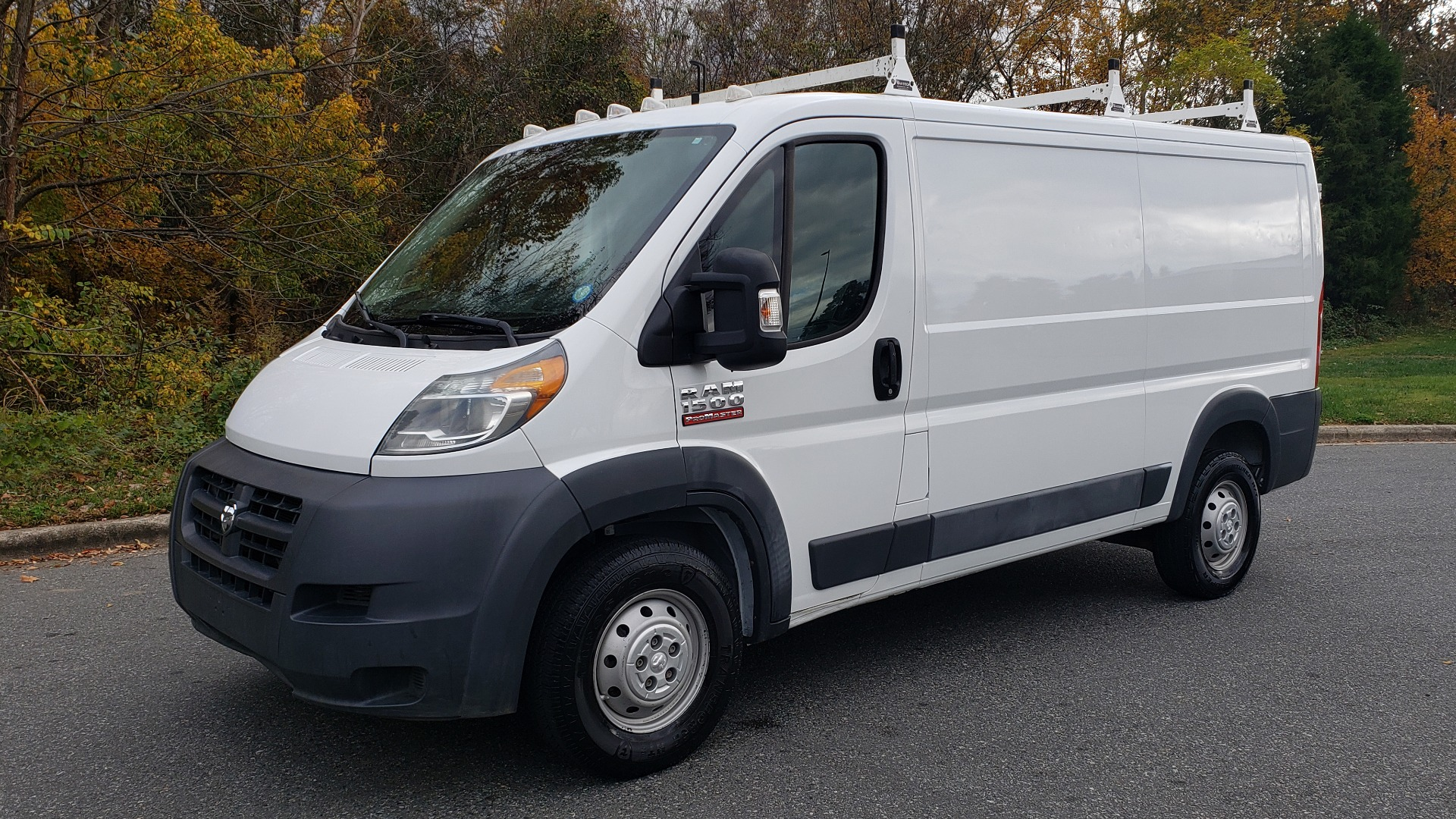 Used 2015 Ram PROMASTER CARGO VAN 136-INCH WB / LOW ROOF / LADDER RACK / INSIDE RACKS for sale $16,995 at Formula Imports in Charlotte NC 28227 1