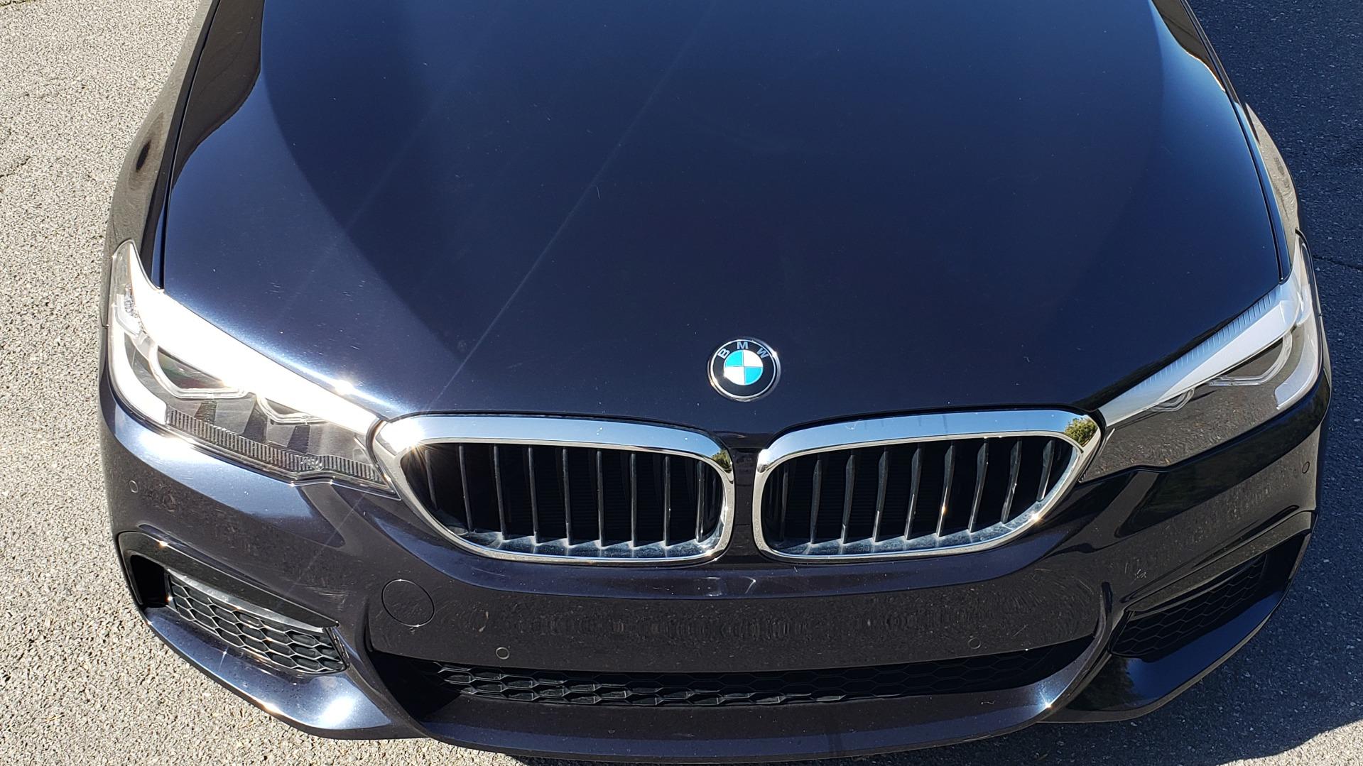 Used 2017 BMW 5 SERIES 530I M-SPORT / PREM PKG / DRVR ASST / HUD / NAV / REARVIEW for sale $33,995 at Formula Imports in Charlotte NC 28227 13