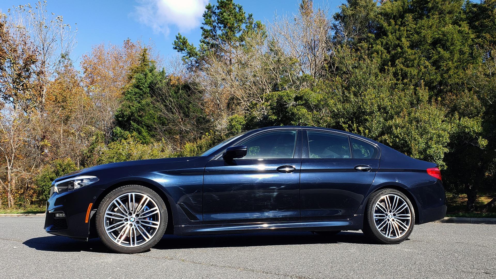 Used 2017 BMW 5 SERIES 530I M-SPORT / PREM PKG / DRVR ASST / HUD / NAV / REARVIEW for sale $33,995 at Formula Imports in Charlotte NC 28227 2