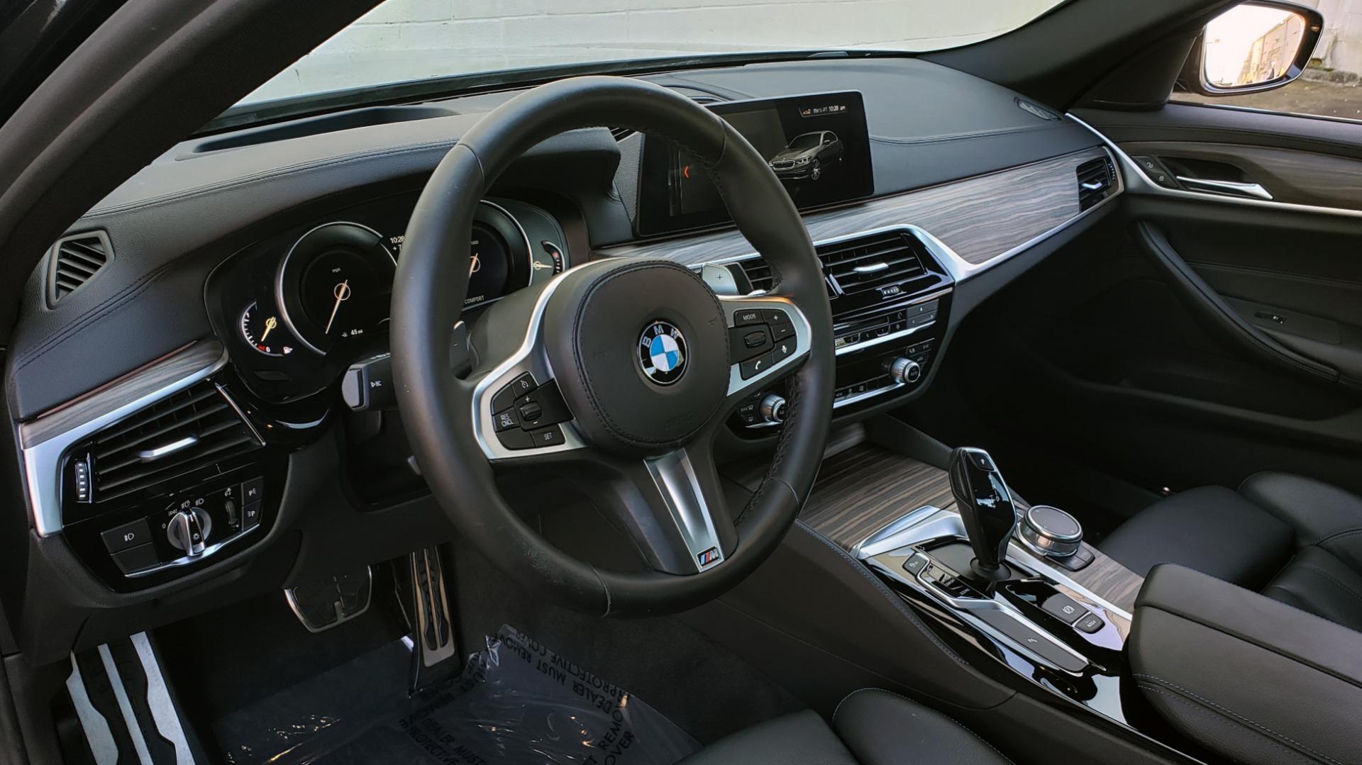Used 2017 BMW 5 SERIES 530I M-SPORT / PREM PKG / DRVR ASST / HUD / NAV / REARVIEW for sale $33,995 at Formula Imports in Charlotte NC 28227 39