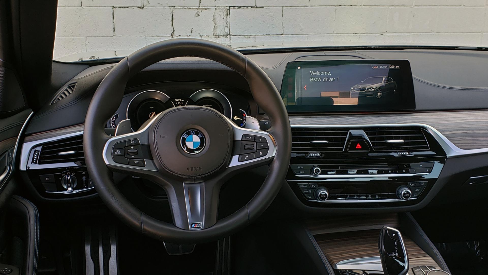 Used 2017 BMW 5 SERIES 530I M-SPORT / PREM PKG / DRVR ASST / HUD / NAV / REARVIEW for sale $33,995 at Formula Imports in Charlotte NC 28227 43