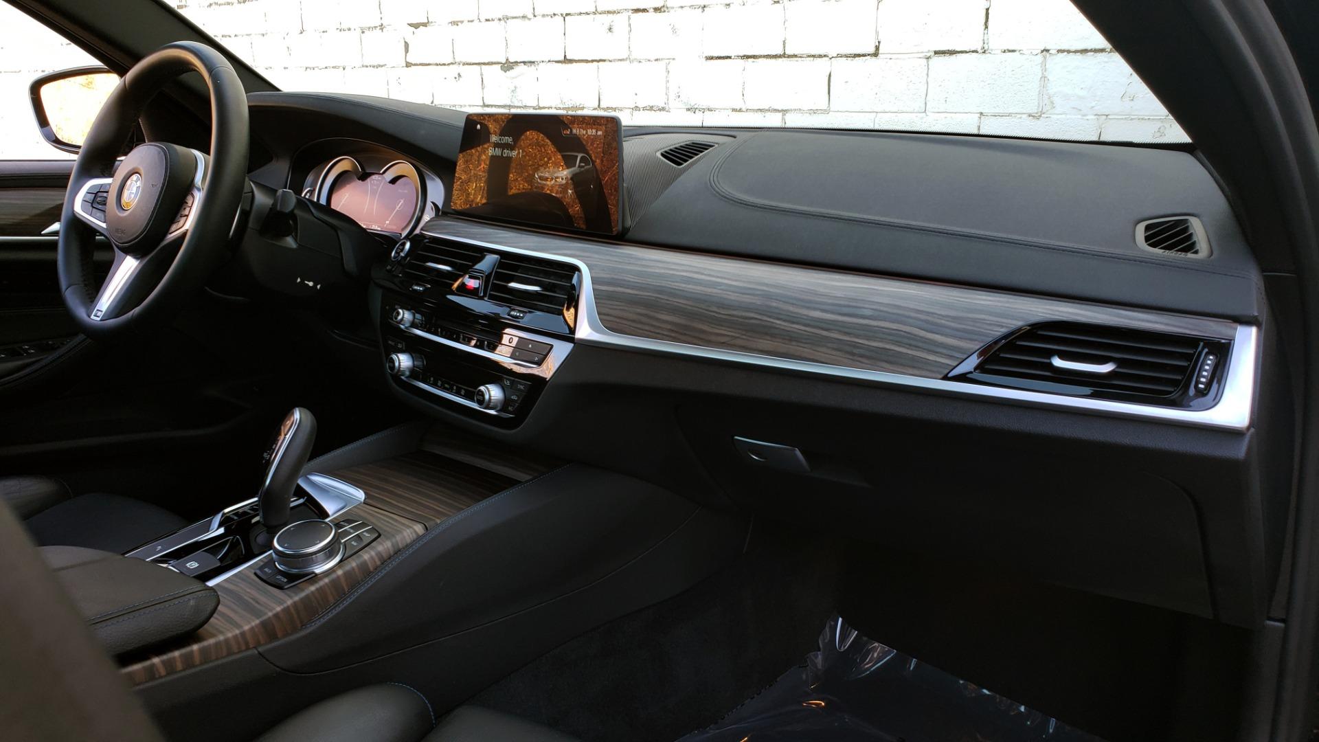 Used 2017 BMW 5 SERIES 530I M-SPORT / PREM PKG / DRVR ASST / HUD / NAV / REARVIEW for sale $33,995 at Formula Imports in Charlotte NC 28227 71
