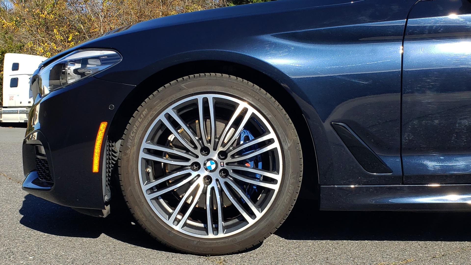 Used 2017 BMW 5 SERIES 530I M-SPORT / PREM PKG / DRVR ASST / HUD / NAV / REARVIEW for sale $33,995 at Formula Imports in Charlotte NC 28227 81