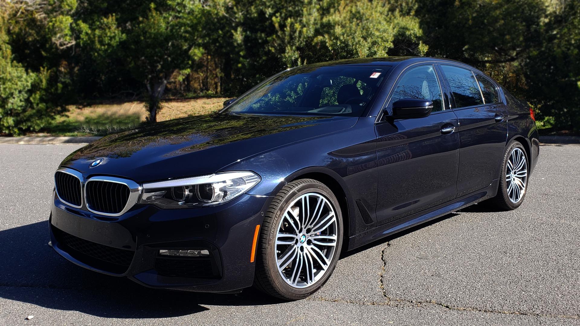 Used 2017 BMW 5 SERIES 530I M-SPORT / PREM PKG / DRVR ASST / HUD / NAV / REARVIEW for sale $33,995 at Formula Imports in Charlotte NC 28227 1