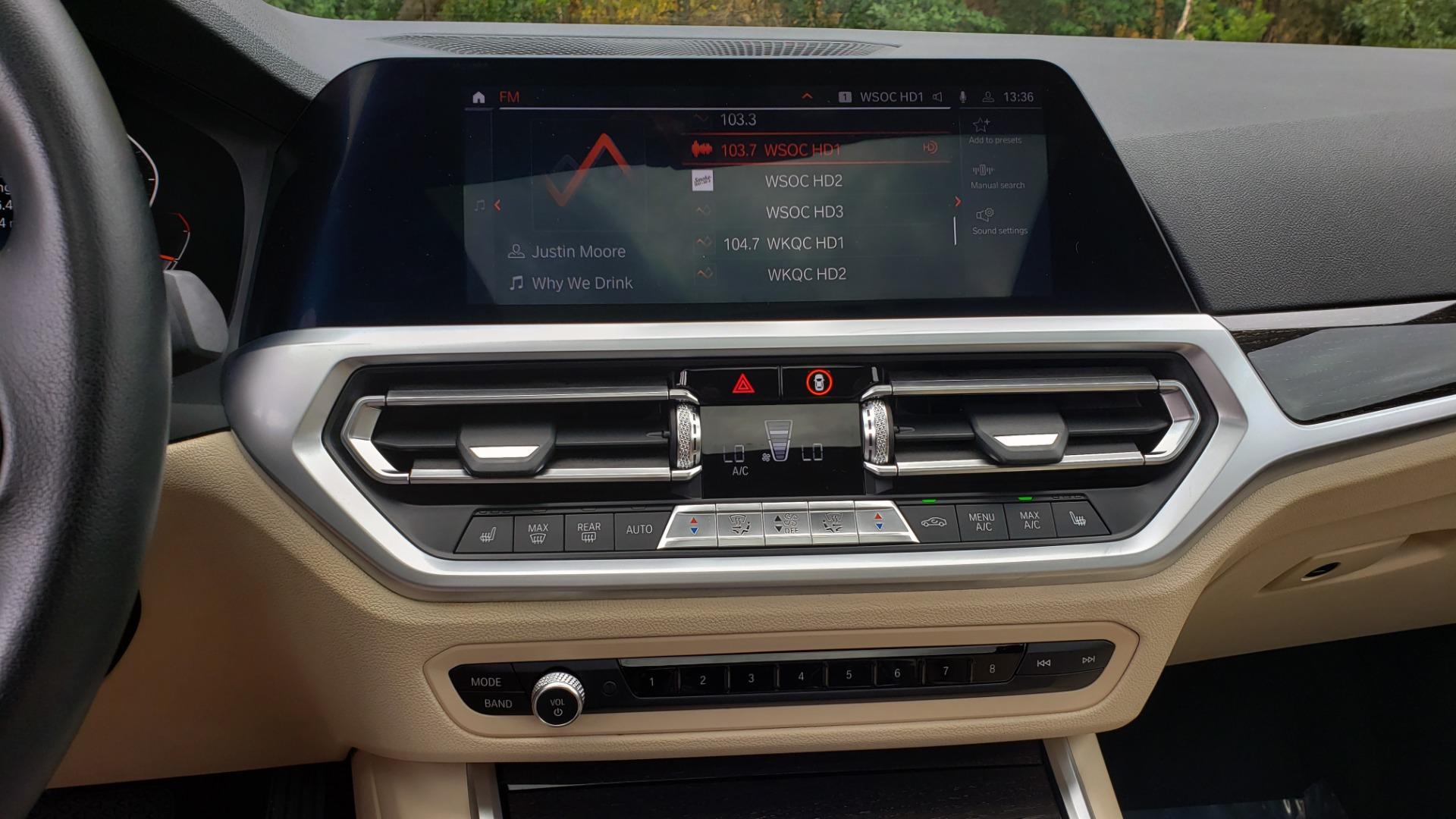 Used 2019 BMW 3 SERIES 330I PREM PKG / NAV / CONV PKG / H&K SND / LIVE COCKPIT PRO for sale Sold at Formula Imports in Charlotte NC 28227 48