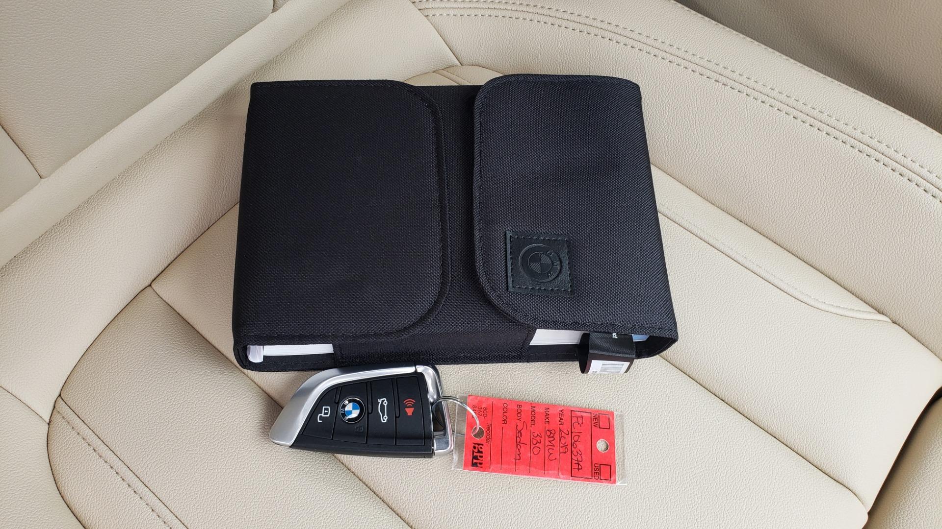 Used 2019 BMW 3 SERIES 330I PREM PKG / NAV / CONV PKG / H&K SND / LIVE COCKPIT PRO for sale Sold at Formula Imports in Charlotte NC 28227 94