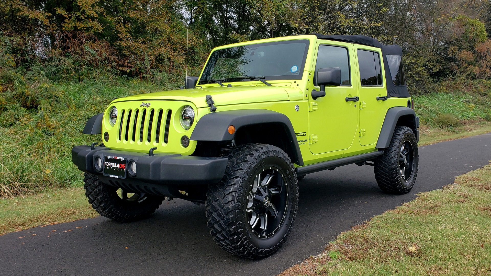 Used 2016 Jeep WRANGLER UNLIMITED SPORT 4X4 / POWER TOP / NAV / HTD STS / REARVIEW for sale $36,999 at Formula Imports in Charlotte NC 28227 6