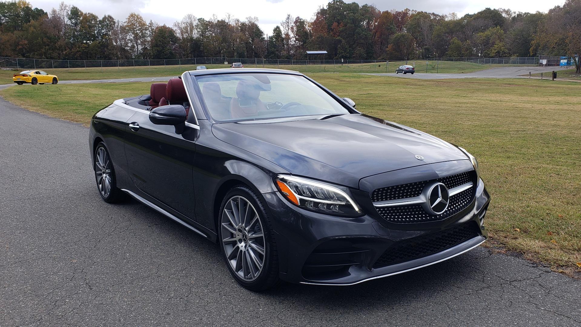 Used 2019 Mercedes-Benz C-CLASS C 300 CABRIOLET / PREM PKG / NAV / BURMESTER / MULTIMEDIA for sale Sold at Formula Imports in Charlotte NC 28227 13