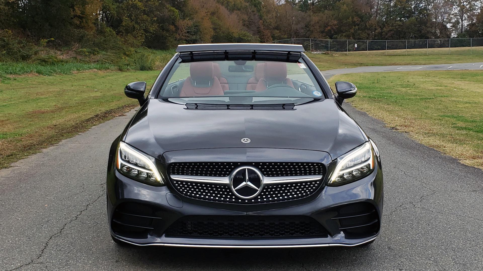 Used 2019 Mercedes-Benz C-CLASS C 300 CABRIOLET / PREM PKG / NAV / BURMESTER / MULTIMEDIA for sale Sold at Formula Imports in Charlotte NC 28227 15