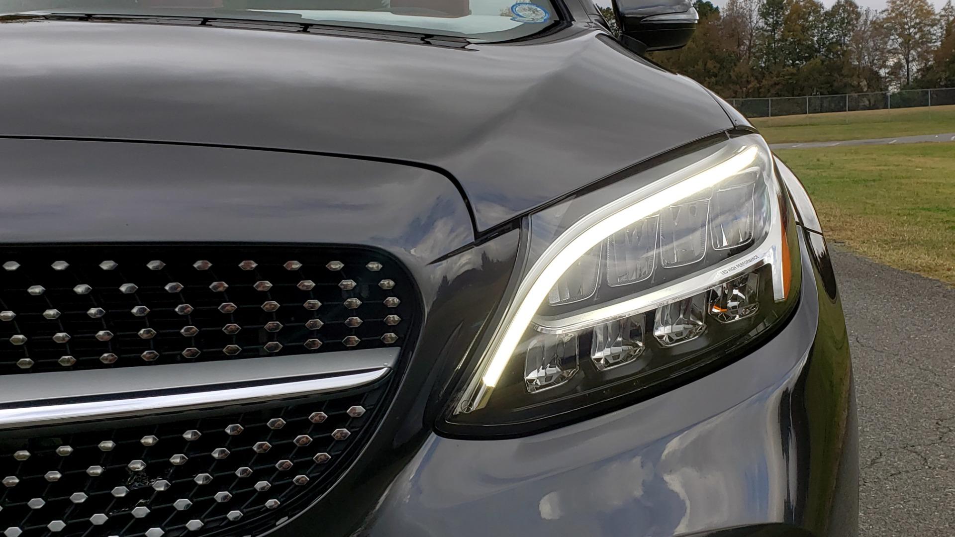 Used 2019 Mercedes-Benz C-CLASS C 300 CABRIOLET / PREM PKG / NAV / BURMESTER / MULTIMEDIA for sale Sold at Formula Imports in Charlotte NC 28227 17