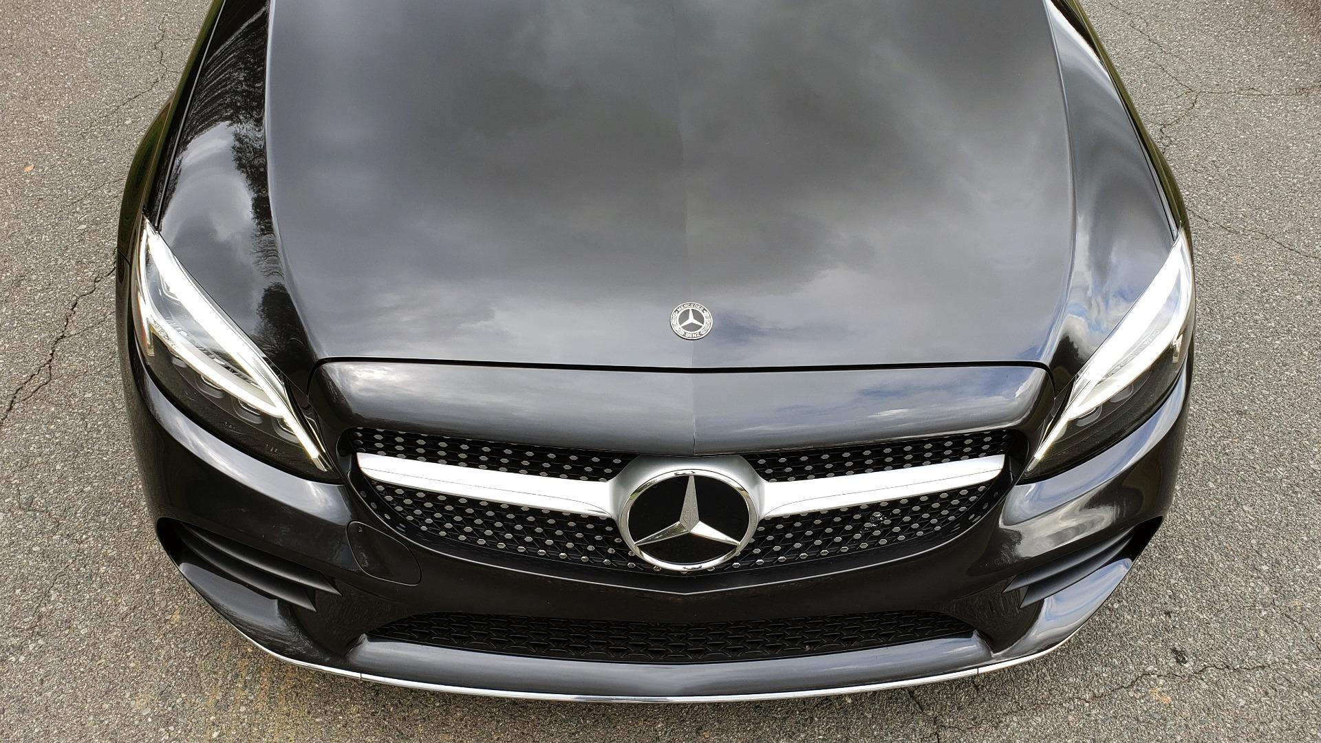 Used 2019 Mercedes-Benz C-CLASS C 300 CABRIOLET / PREM PKG / NAV / BURMESTER / MULTIMEDIA for sale $49,995 at Formula Imports in Charlotte NC 28227 19