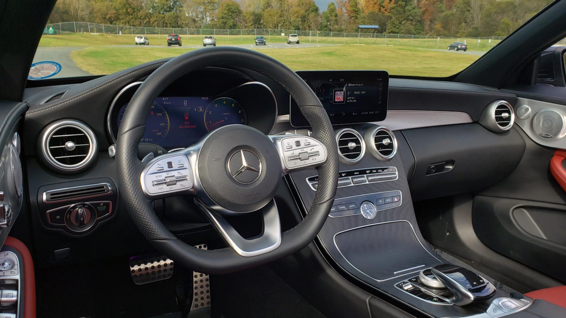 Used 2019 Mercedes-Benz C-CLASS C 300 CABRIOLET / PREM PKG / NAV / BURMESTER / MULTIMEDIA for sale Sold at Formula Imports in Charlotte NC 28227 25