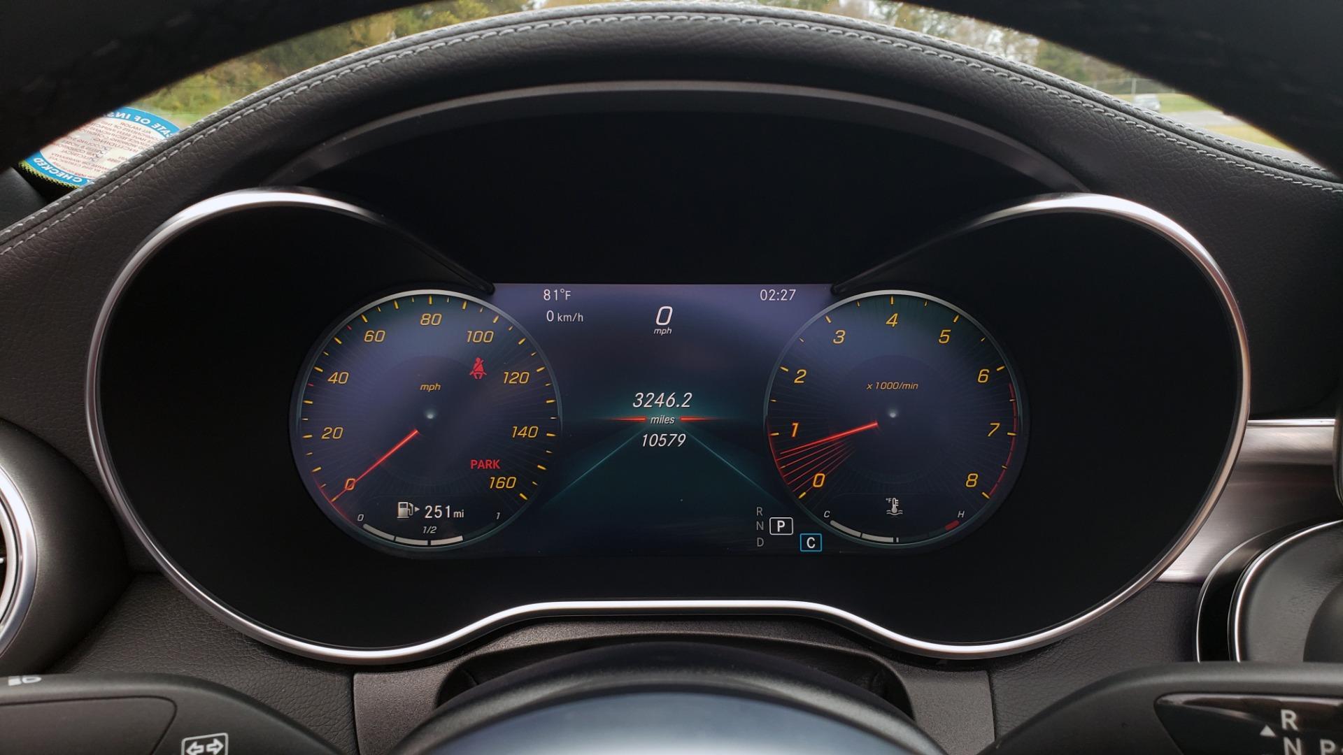 Used 2019 Mercedes-Benz C-CLASS C 300 CABRIOLET / PREM PKG / NAV / BURMESTER / MULTIMEDIA for sale Sold at Formula Imports in Charlotte NC 28227 38