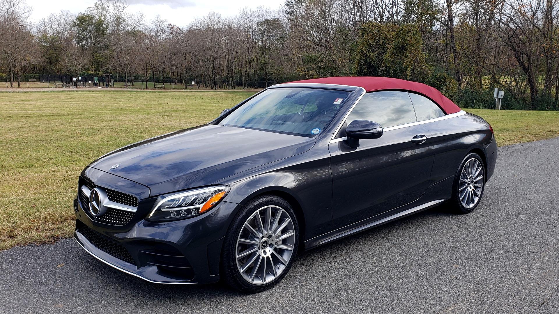 Used 2019 Mercedes-Benz C-CLASS C 300 CABRIOLET / PREM PKG / NAV / BURMESTER / MULTIMEDIA for sale Sold at Formula Imports in Charlotte NC 28227 4