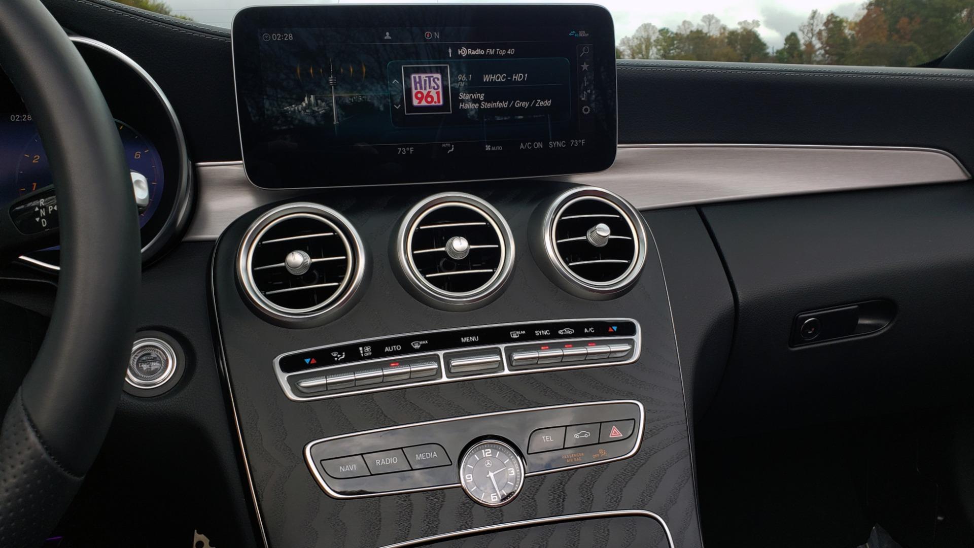 Used 2019 Mercedes-Benz C-CLASS C 300 CABRIOLET / PREM PKG / NAV / BURMESTER / MULTIMEDIA for sale Sold at Formula Imports in Charlotte NC 28227 44