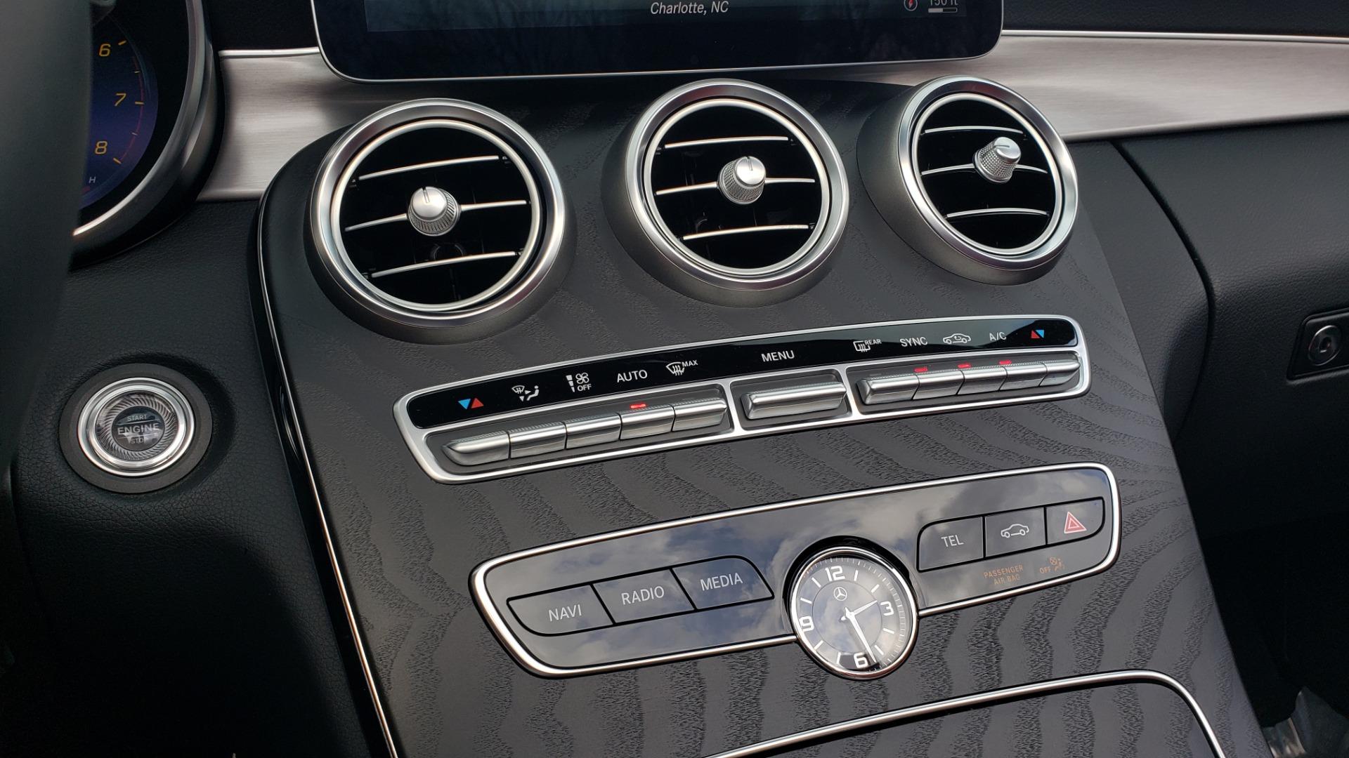 Used 2019 Mercedes-Benz C-CLASS C 300 CABRIOLET / PREM PKG / NAV / BURMESTER / MULTIMEDIA for sale $49,995 at Formula Imports in Charlotte NC 28227 48