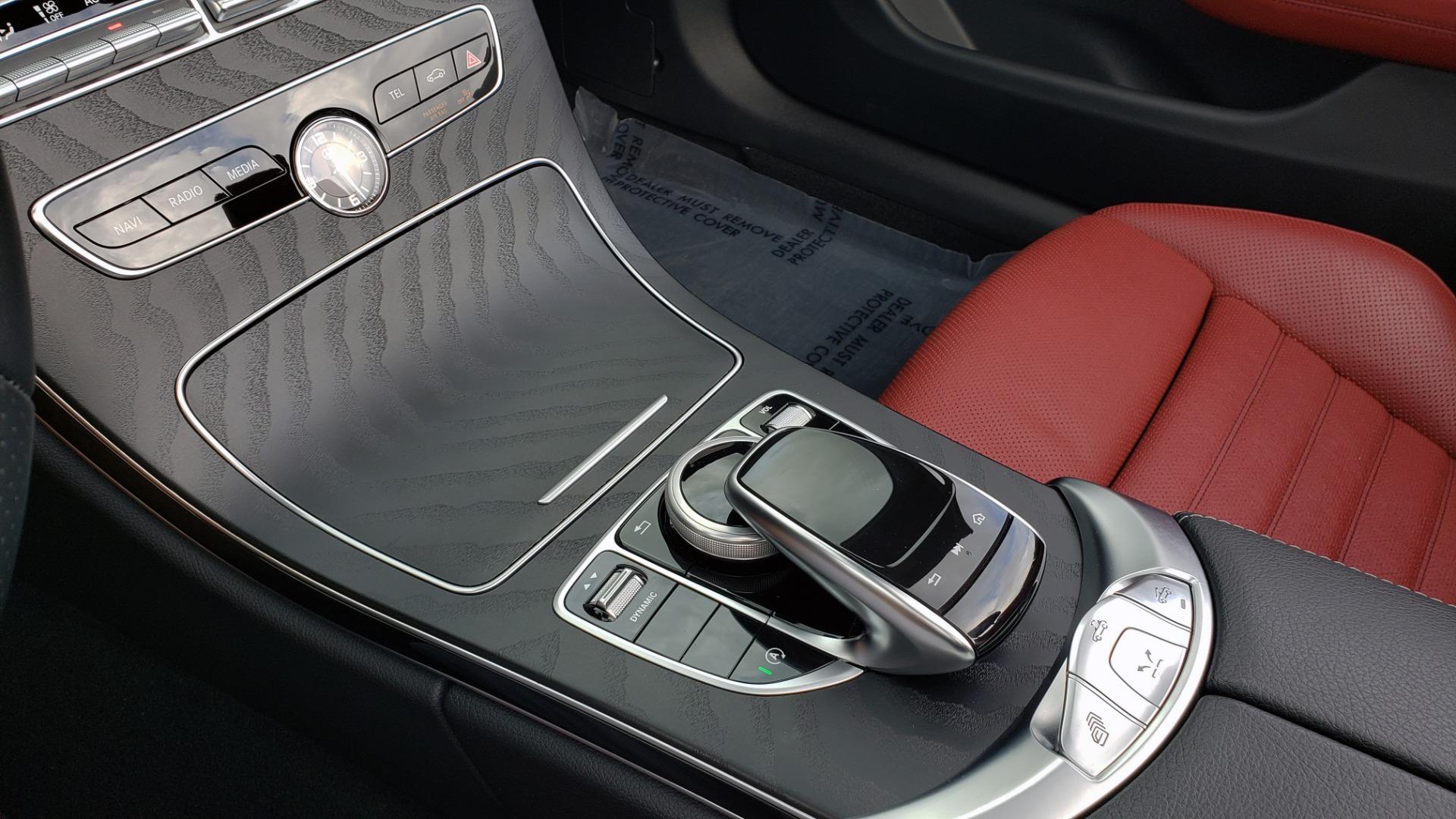 Used 2019 Mercedes-Benz C-CLASS C 300 CABRIOLET / PREM PKG / NAV / BURMESTER / MULTIMEDIA for sale Sold at Formula Imports in Charlotte NC 28227 49