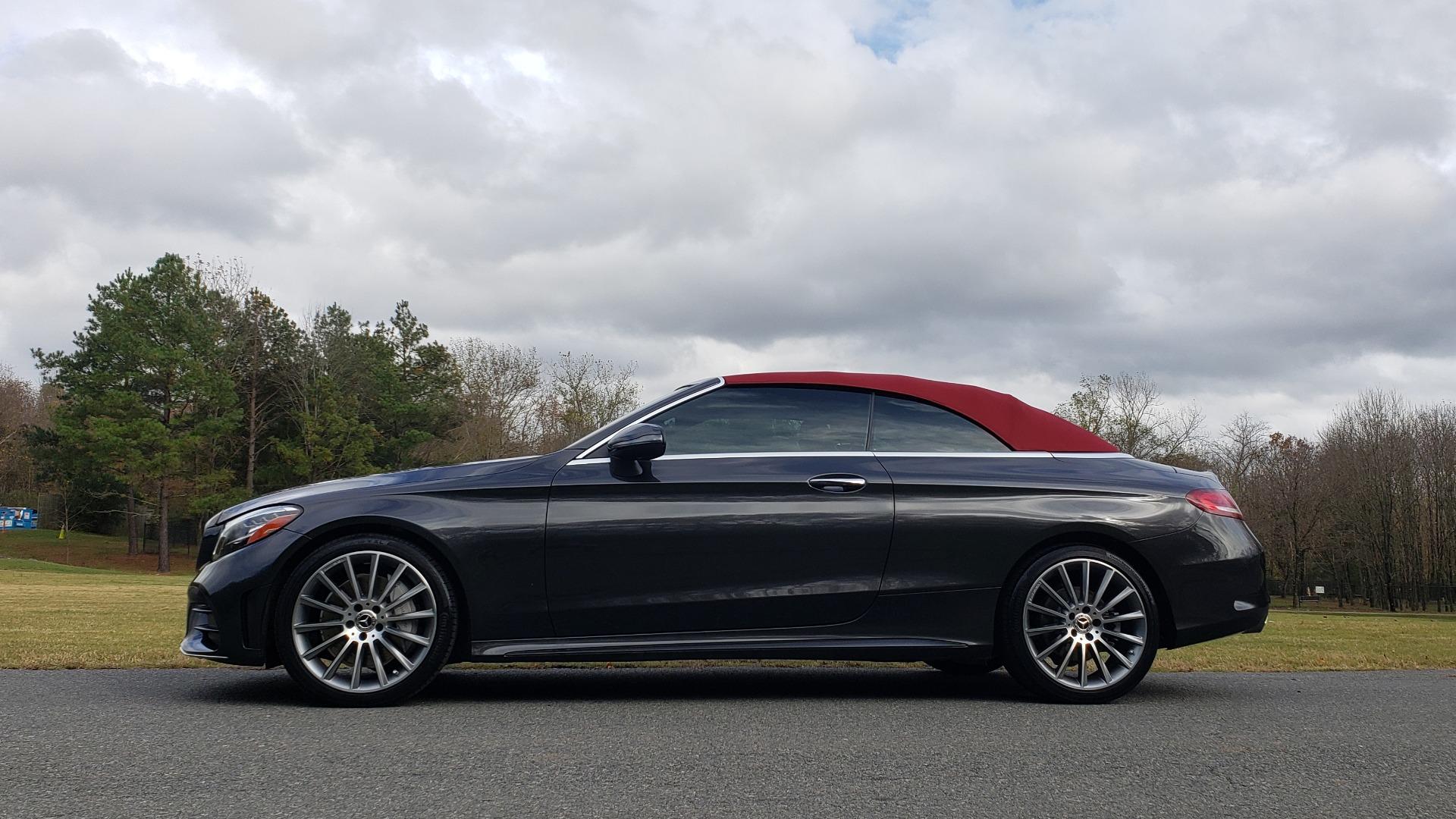 Used 2019 Mercedes-Benz C-CLASS C 300 CABRIOLET / PREM PKG / NAV / BURMESTER / MULTIMEDIA for sale Sold at Formula Imports in Charlotte NC 28227 5