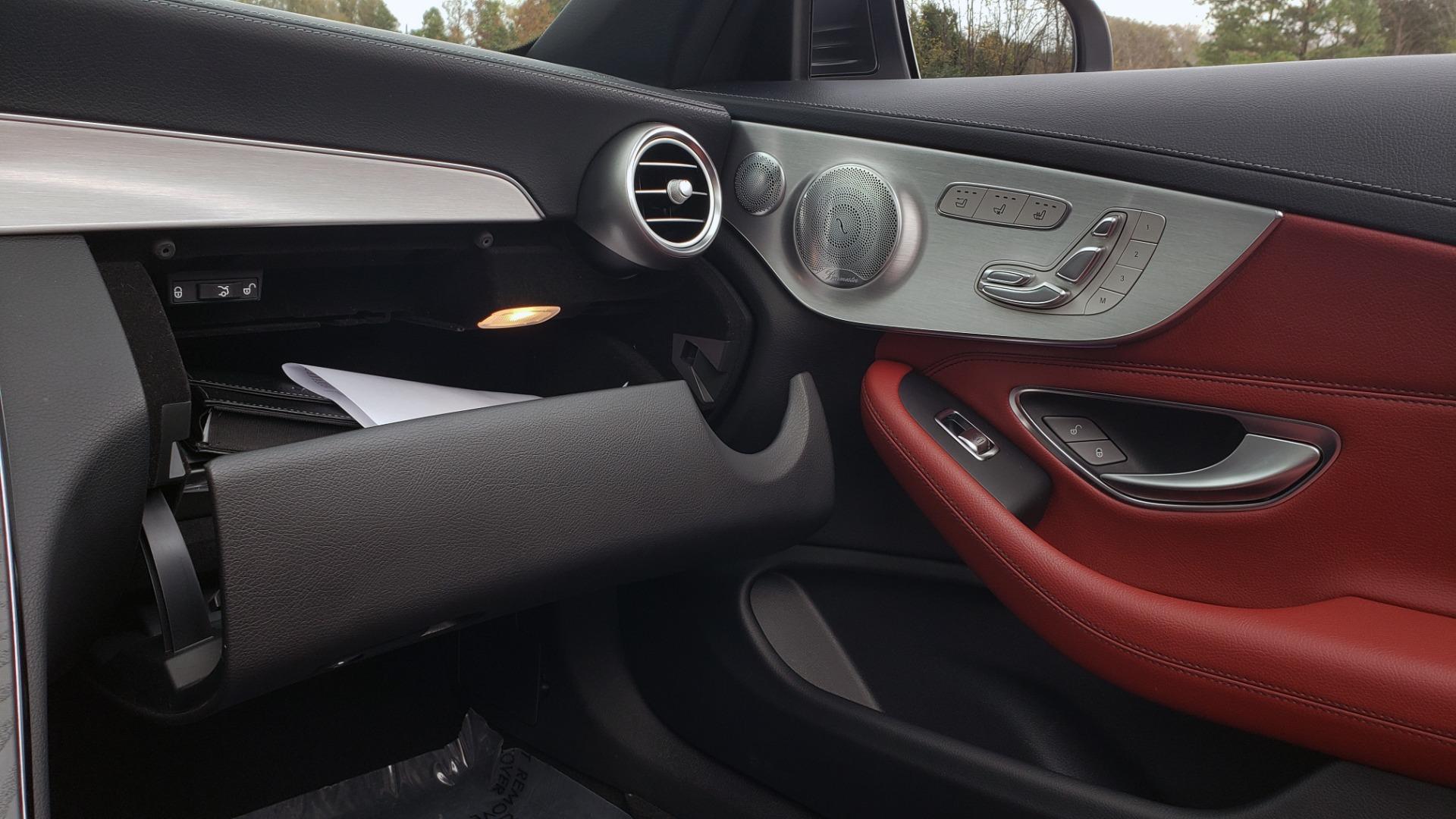 Used 2019 Mercedes-Benz C-CLASS C 300 CABRIOLET / PREM PKG / NAV / BURMESTER / MULTIMEDIA for sale Sold at Formula Imports in Charlotte NC 28227 53